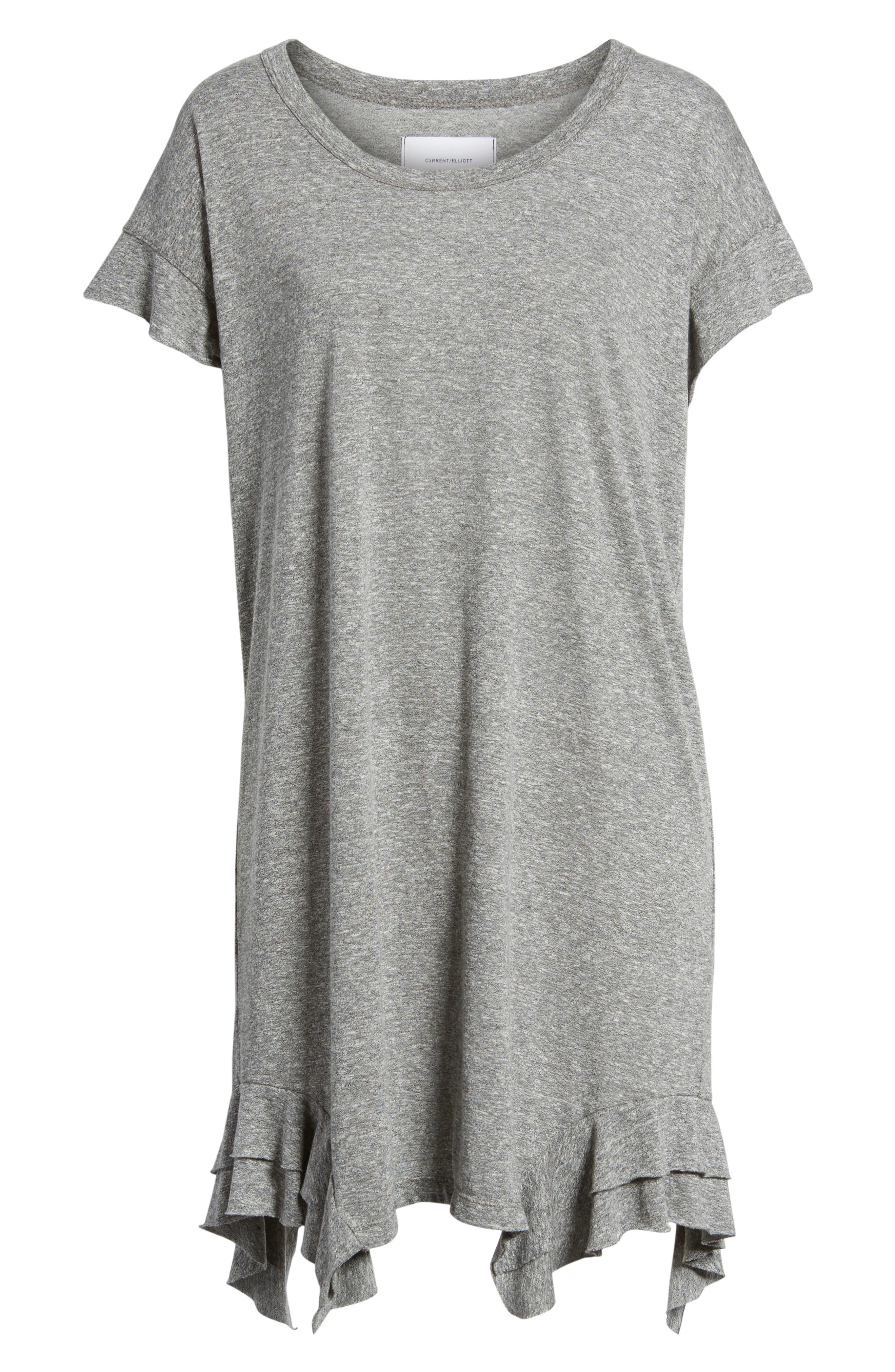 Alternate Image 6  - Current/Elliott The Tier T-Shirt Dress