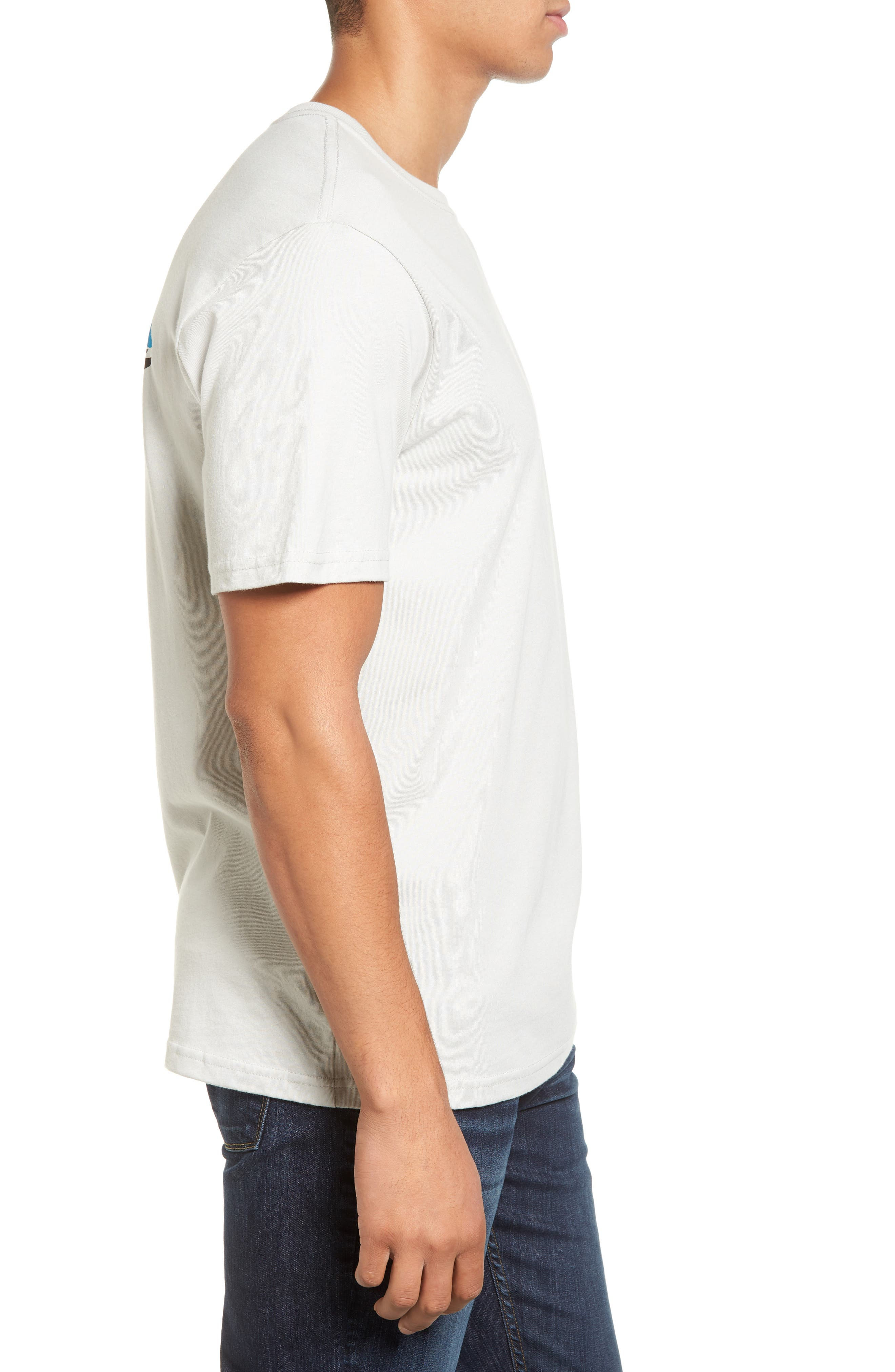 Alternate Image 3  - Patagonia 'Trout Fitz Roy' Organic Cotton T-Shirt