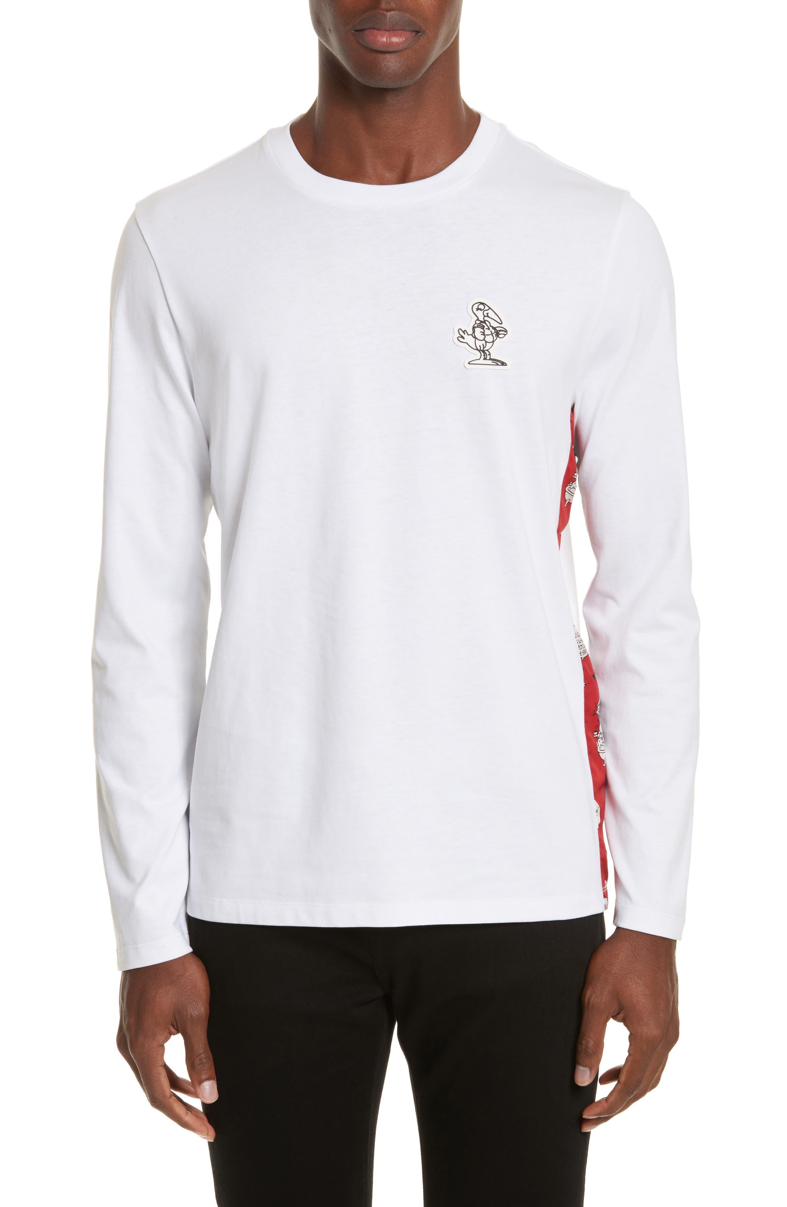 Maglia Griccollo Long Sleeve T-Shirt,                         Main,                         color, White