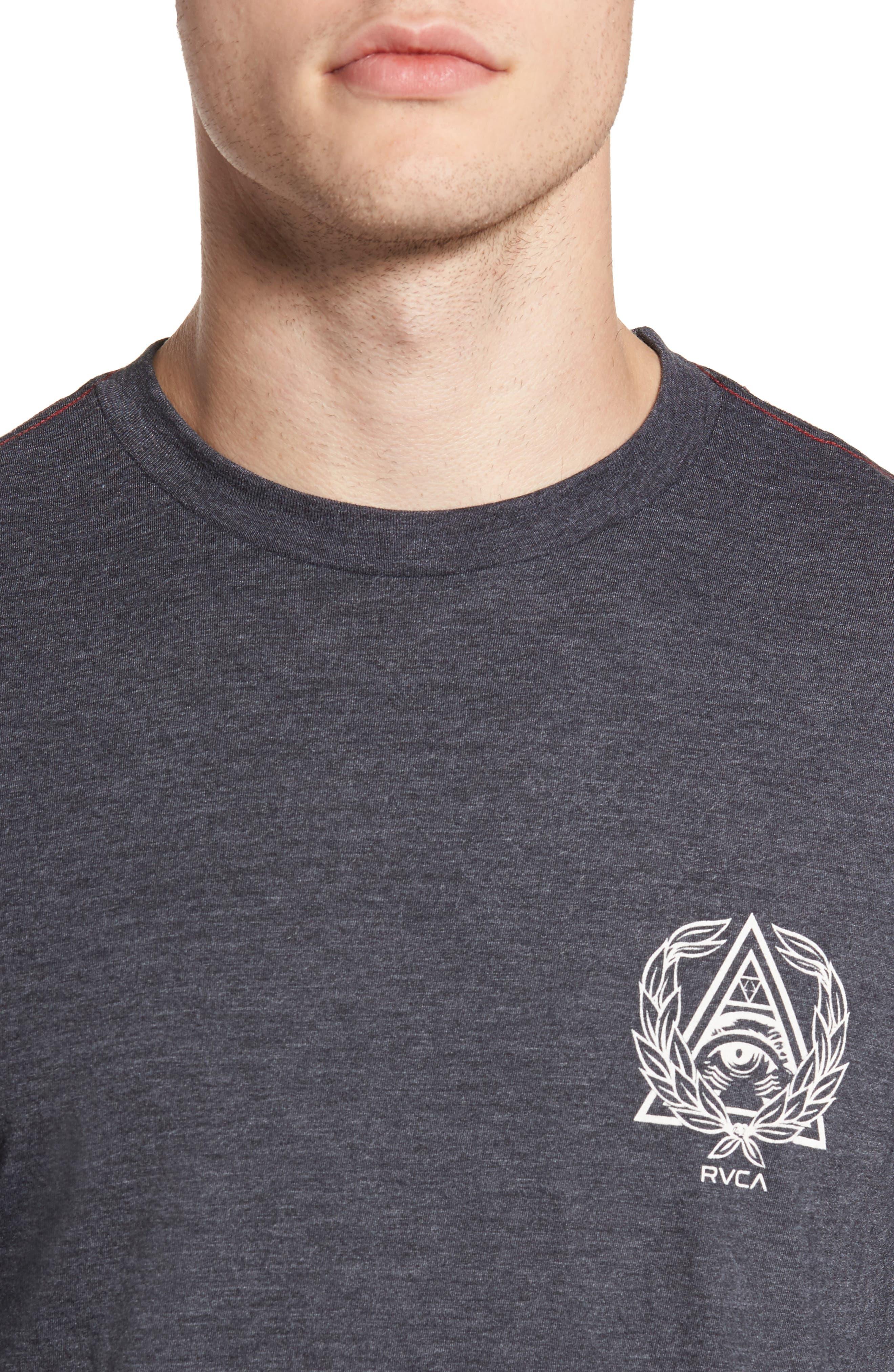 Alternate Image 4  - RVCA Prigus Sport Team T-Shirt