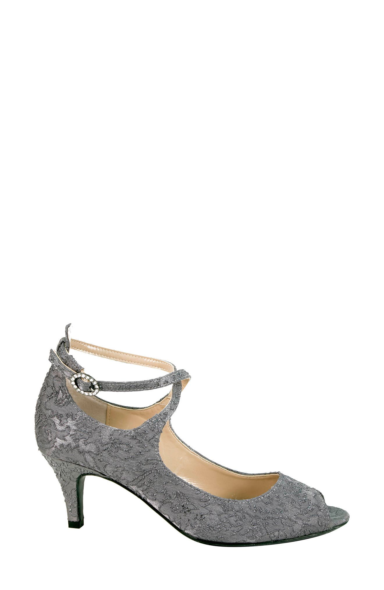 Alternate Image 3  - J. Reneé Rolyne Peep Toe Pump (Women)
