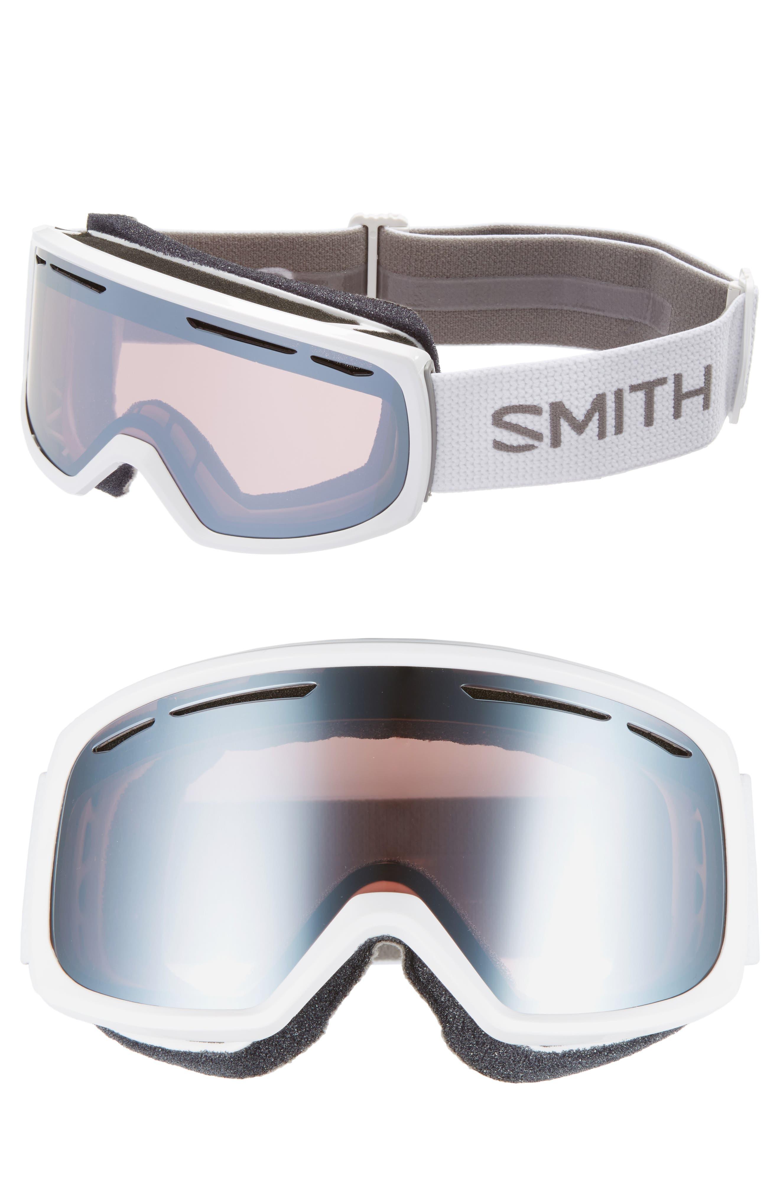 Drift Snow Goggles,                             Main thumbnail 1, color,                             White/ Mirror