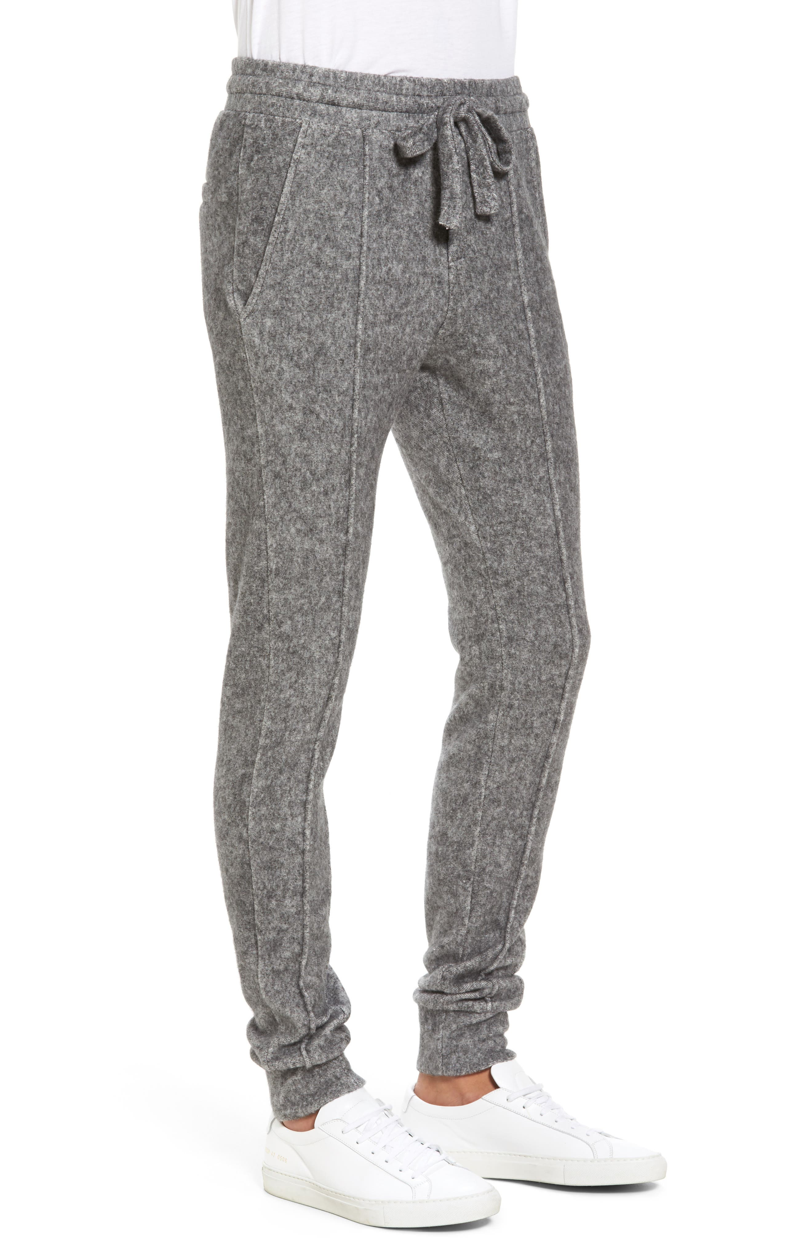 Alternate Image 3  - Twenty Slim Fleece Jogger Pants