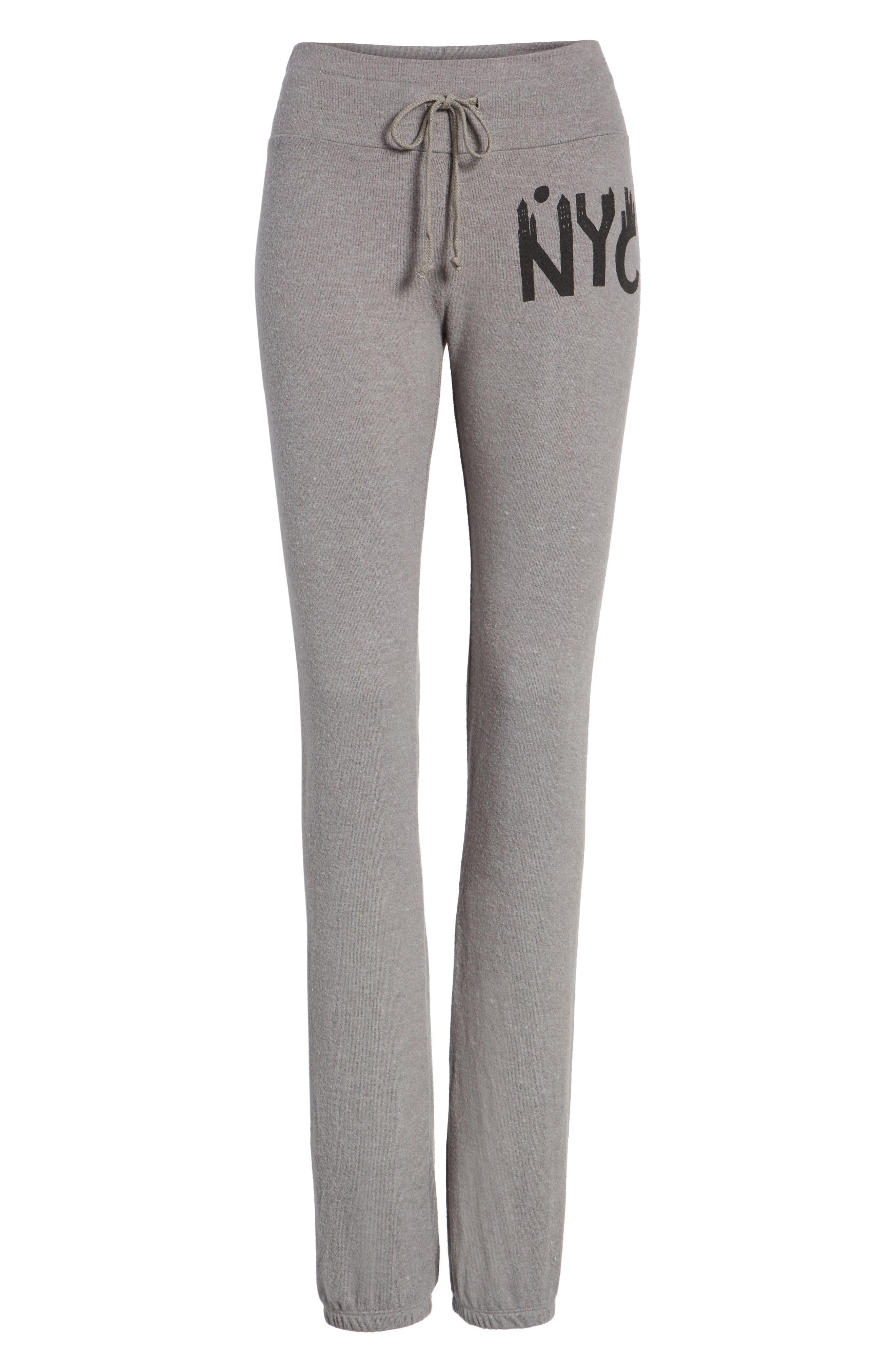 NYC Sweatpants,                             Alternate thumbnail 6, color,                             Vintage Grey