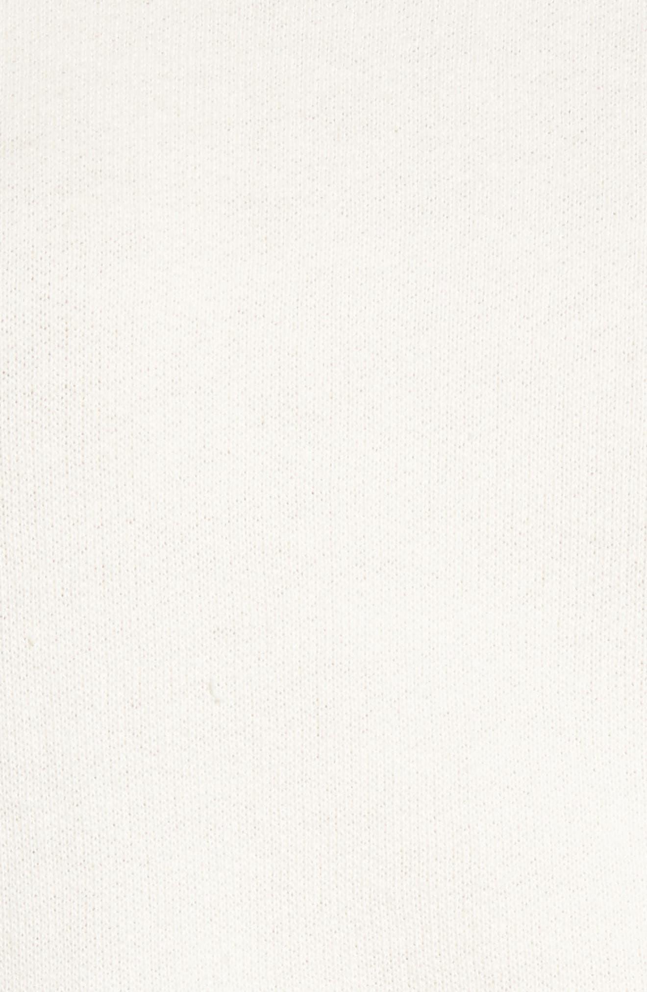 West Fourth Ruffle Sweatshirt,                             Alternate thumbnail 5, color,                             Off White