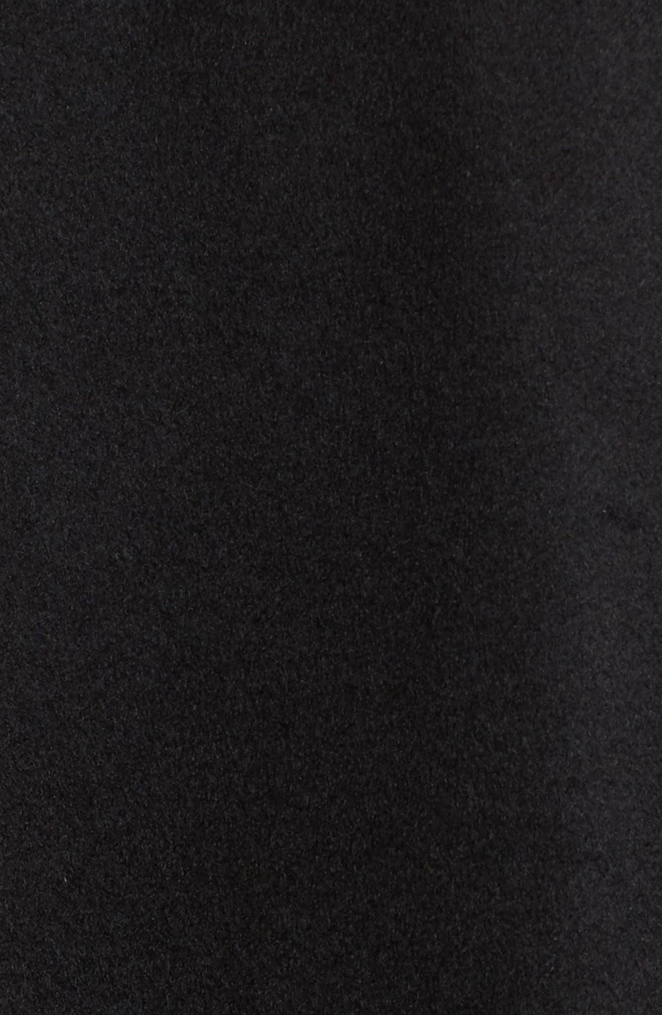 Manchester Waterproof Field Coat,                             Alternate thumbnail 5, color,                             Black