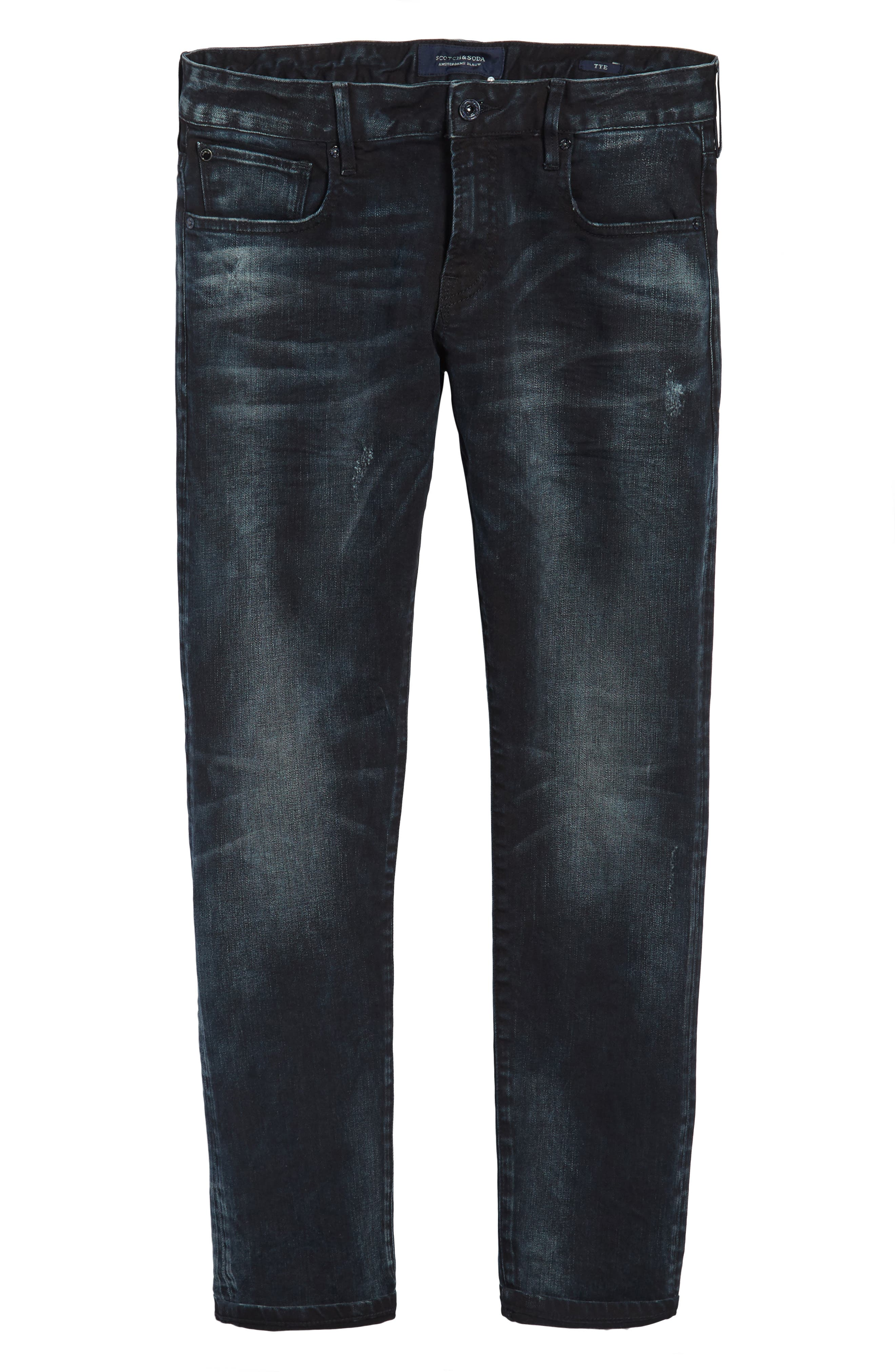 Tye Slim Fit Jeans,                             Alternate thumbnail 6, color,                             Sander