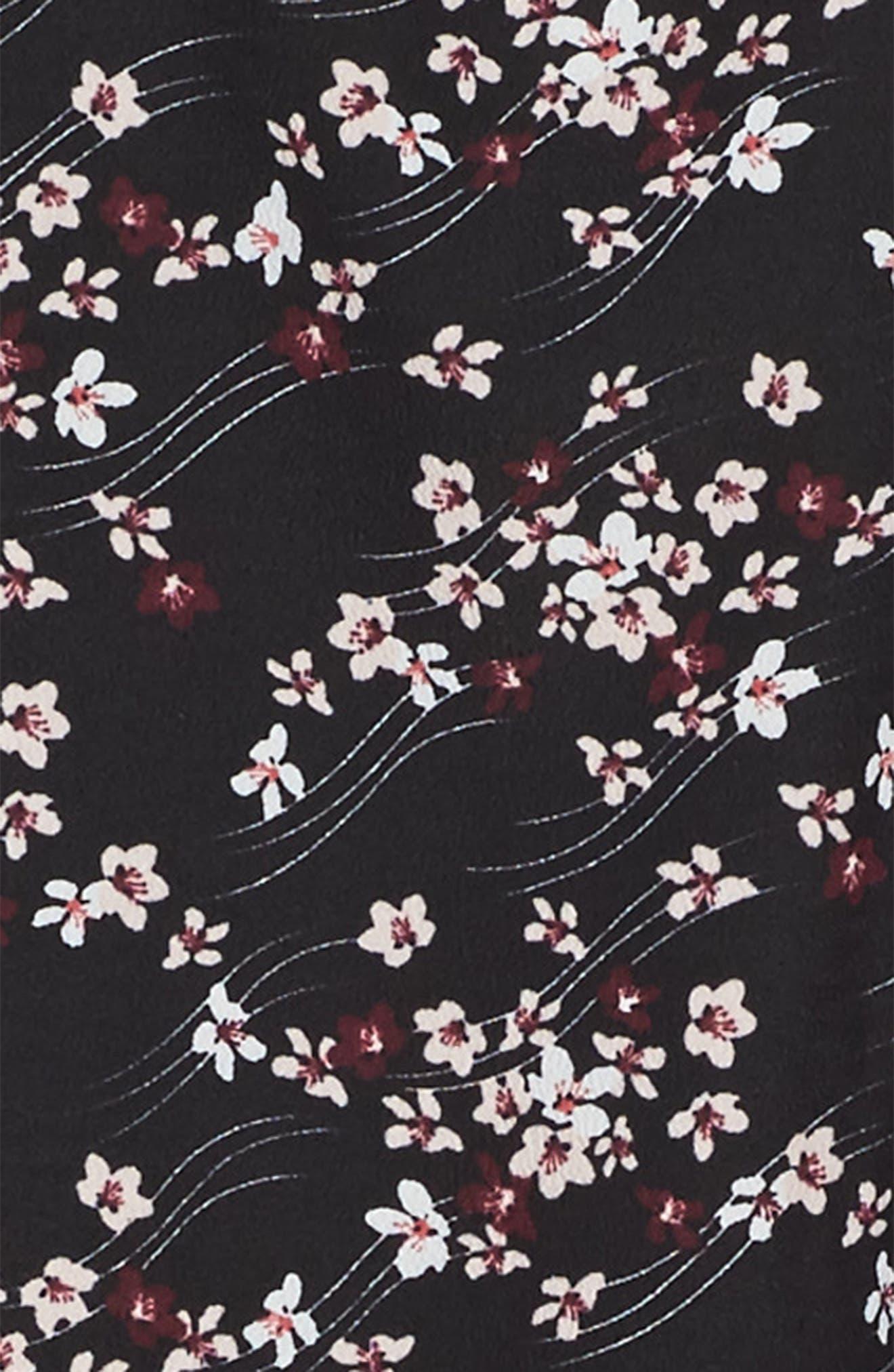 Alternate Image 3  - Maddie Floral Print Slip Dress (Big Girls)