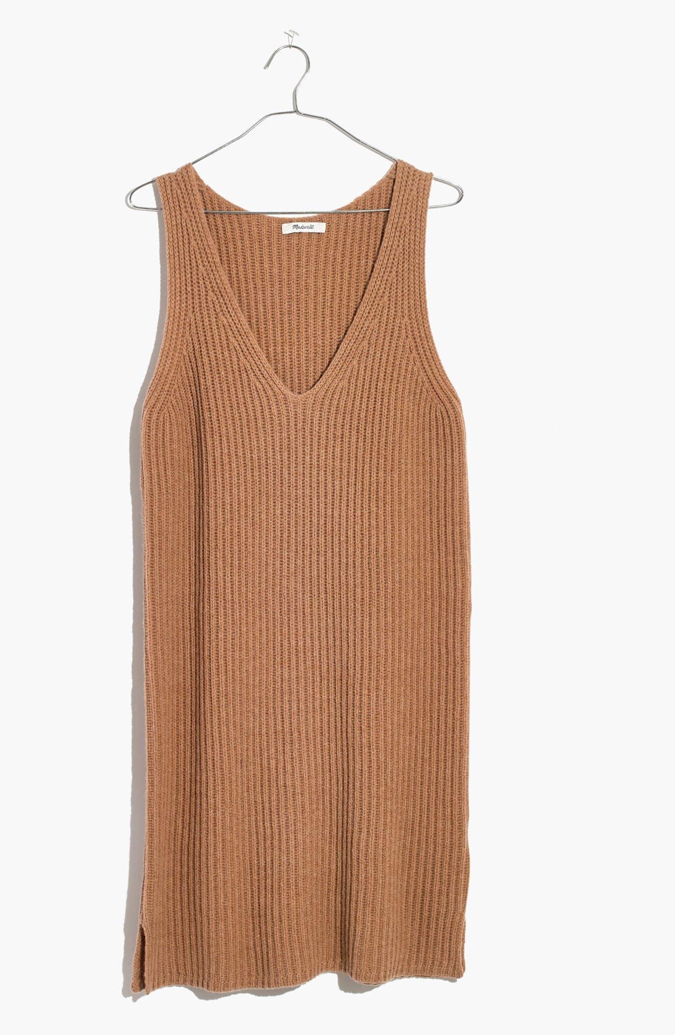 Alternate Image 4  - Madewell Tunic Sweater Dress