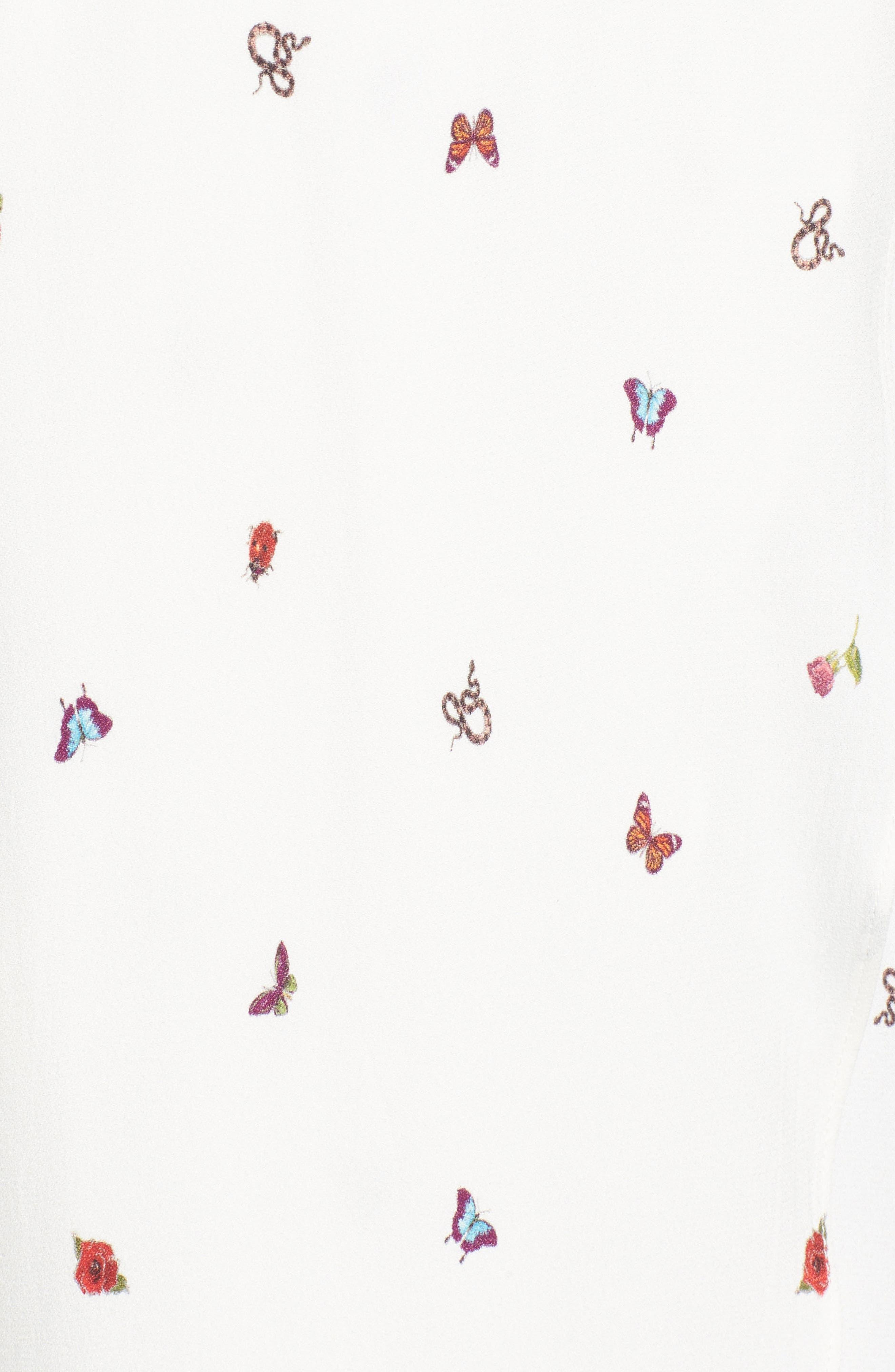 Alternate Image 5  - AFRM Daisy Ruffle Midi Dress