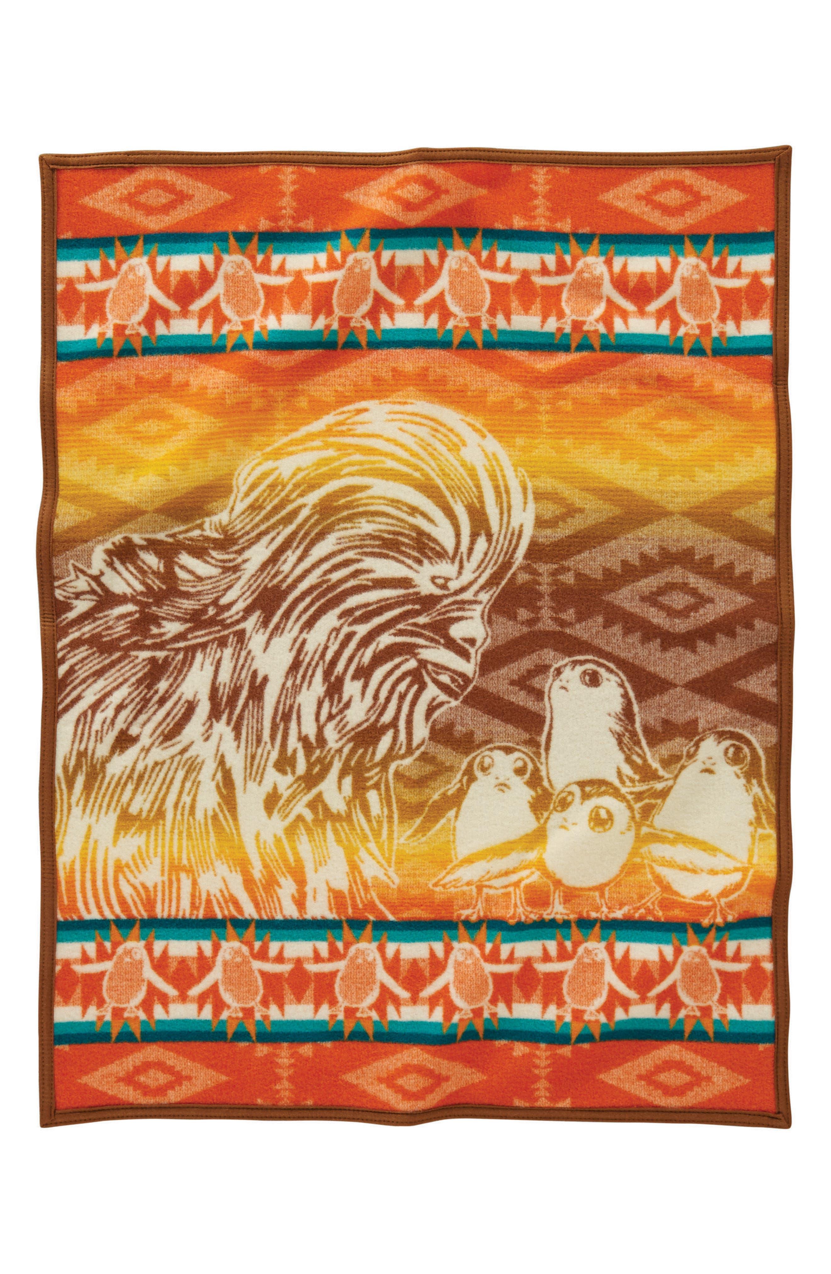 Star Wars<sup>™</sup> - A New Alliance Crib Blanket,                             Main thumbnail 1, color,                             Brown
