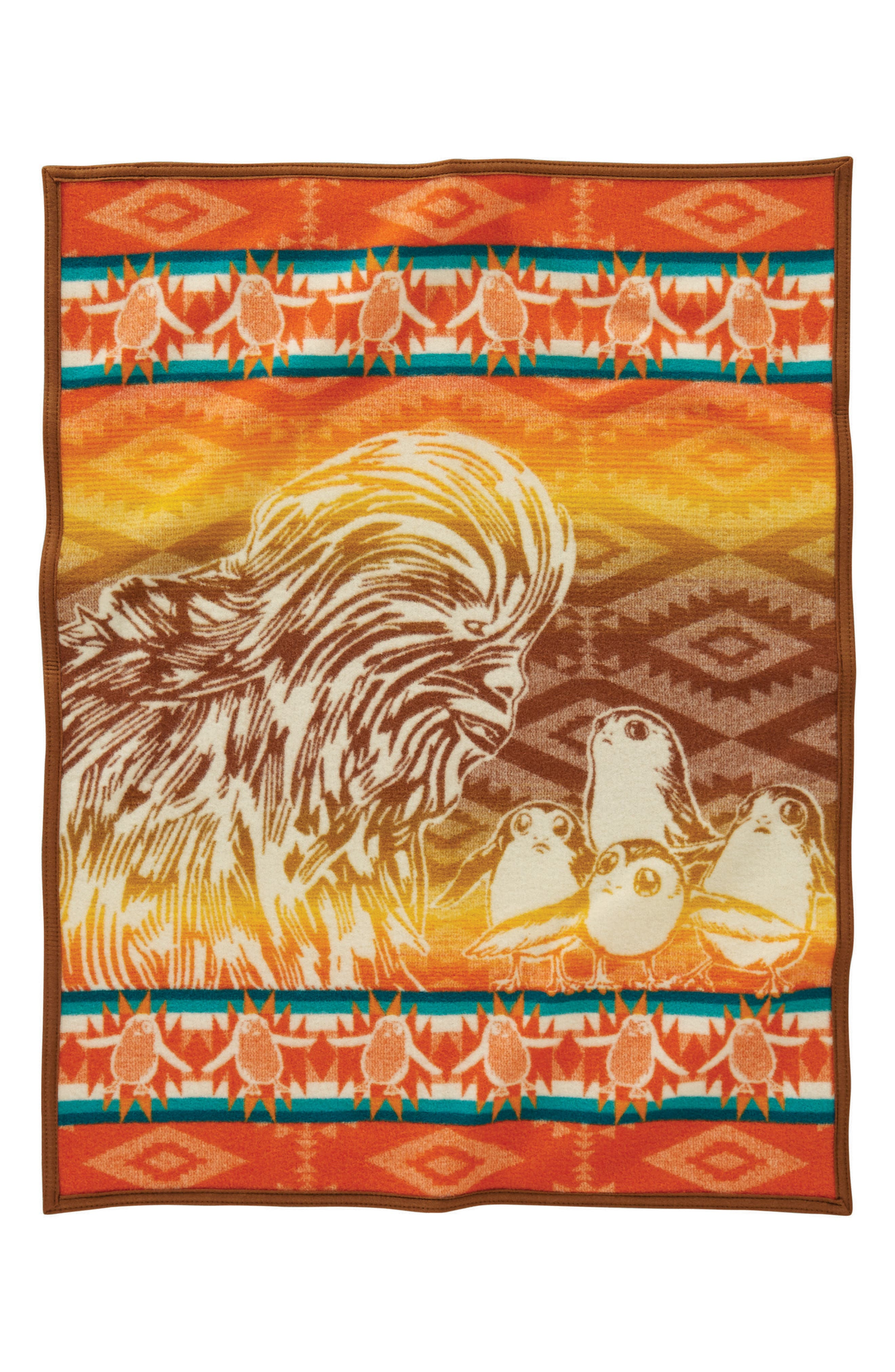 Star Wars<sup>™</sup> - A New Alliance Crib Blanket,                         Main,                         color, Brown