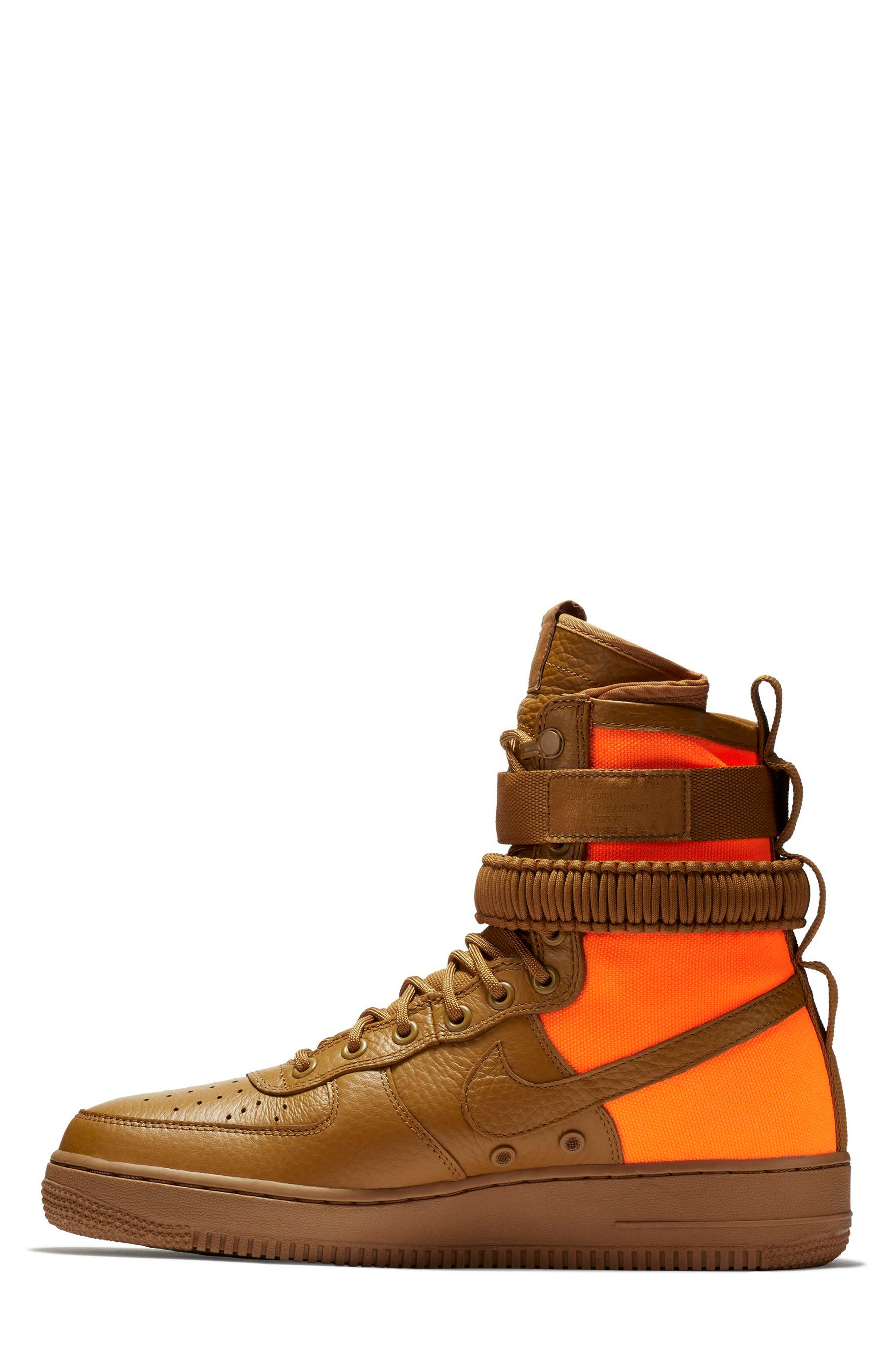 Alternate Image 3  - Nike SF Air Force 1 QS High Top Sneaker