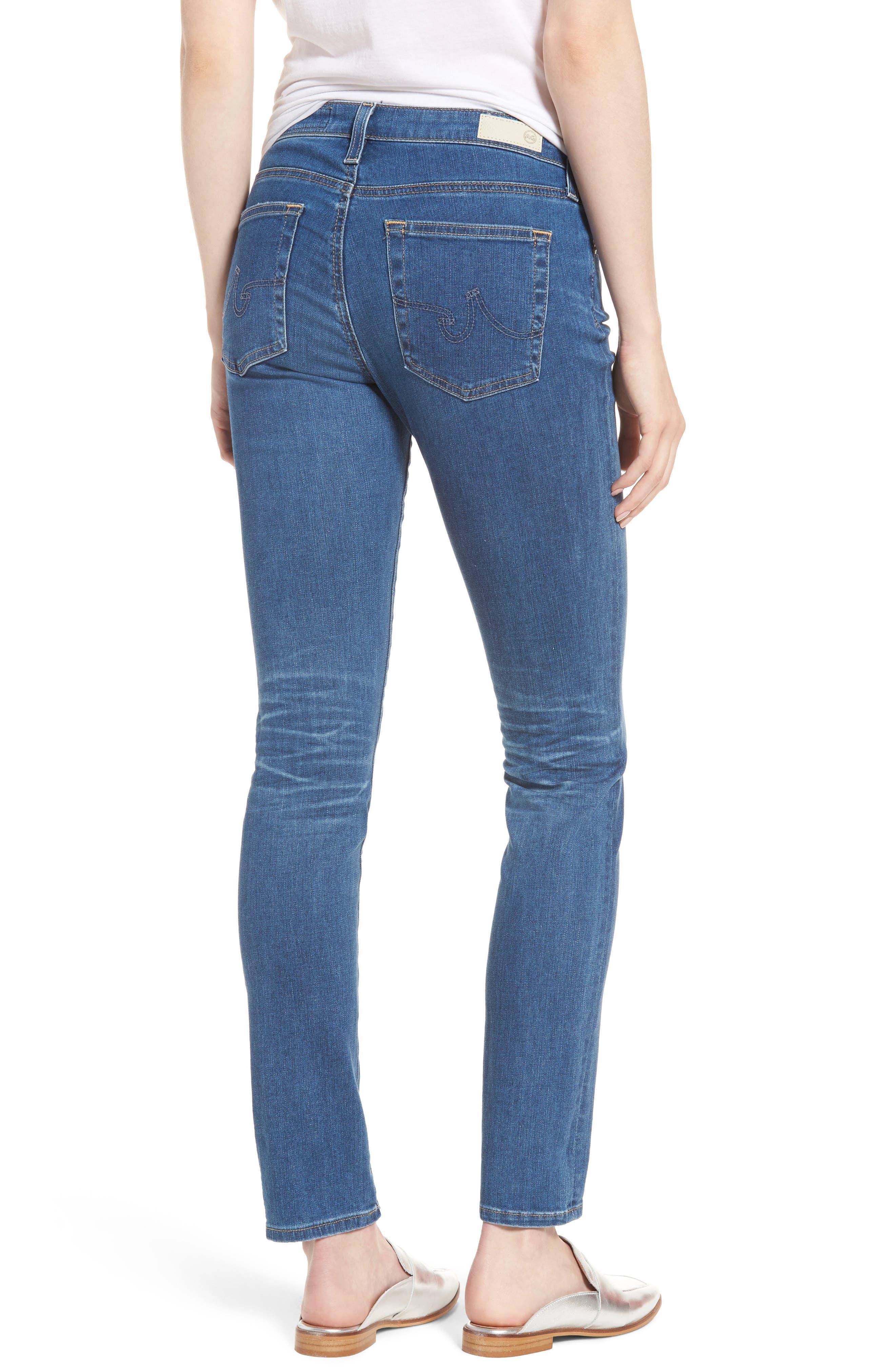 Alternate Image 2  - AG 'Prima' Skinny Jeans (14 Year Blue Nile)