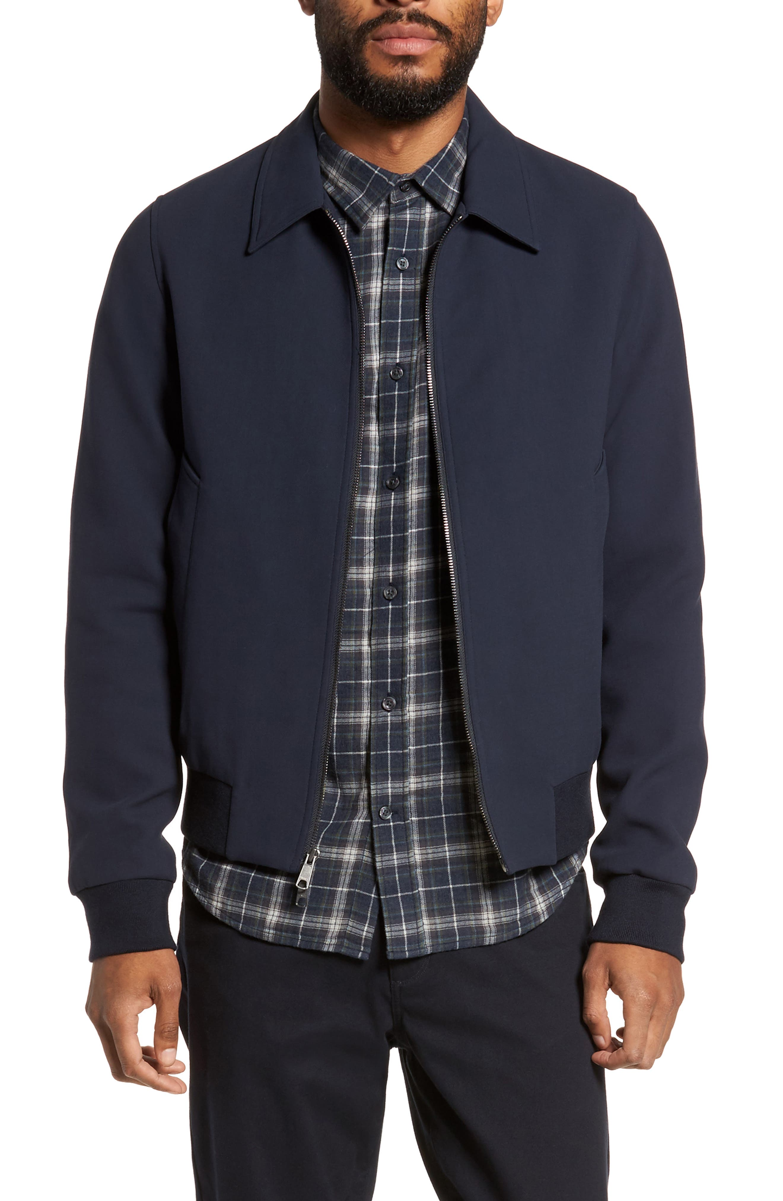 Bomber Jacket,                         Main,                         color, New Coastal