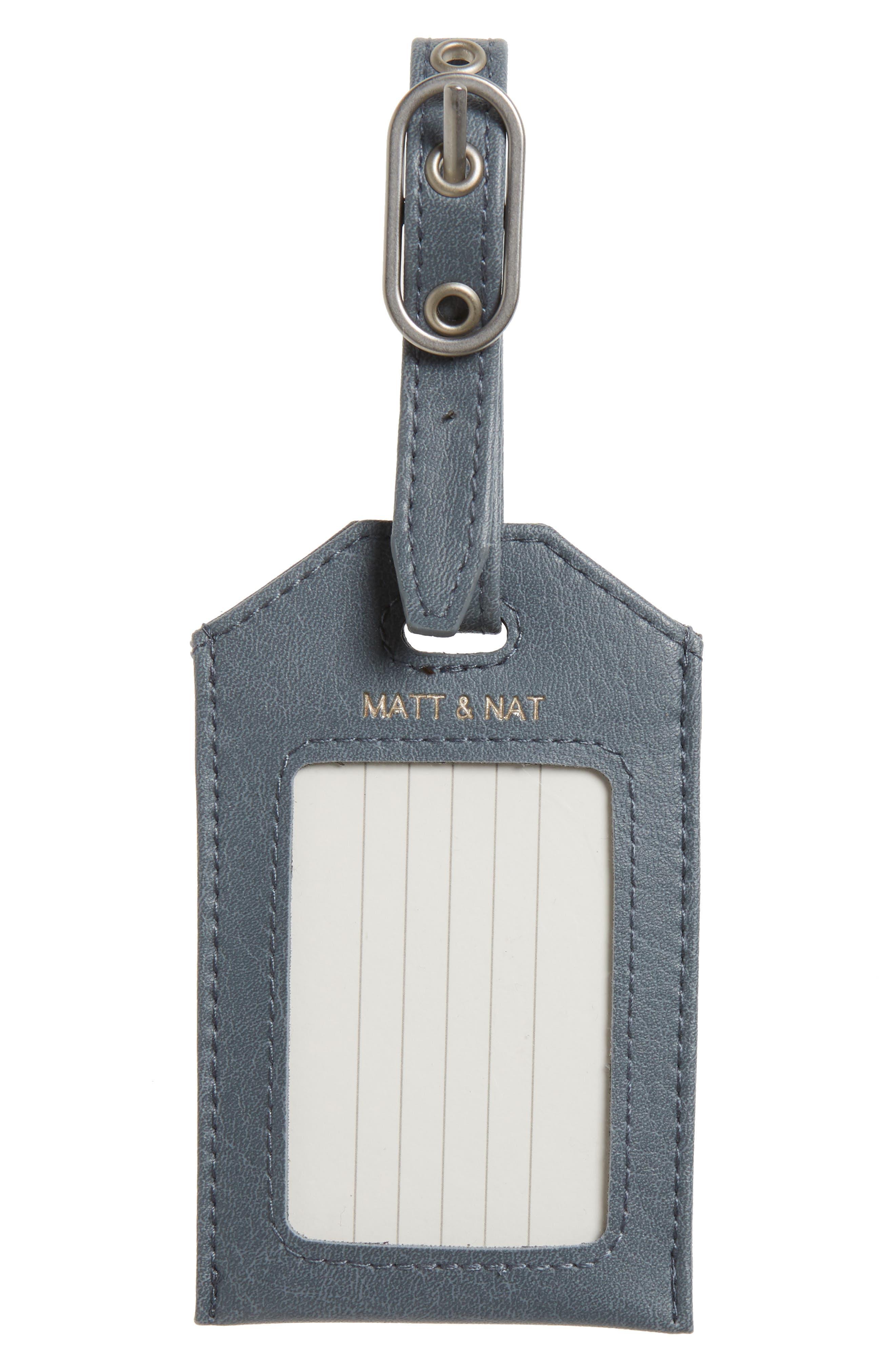 Main Image - Matt & Nat Trotter Faux Leather Luggage Tag