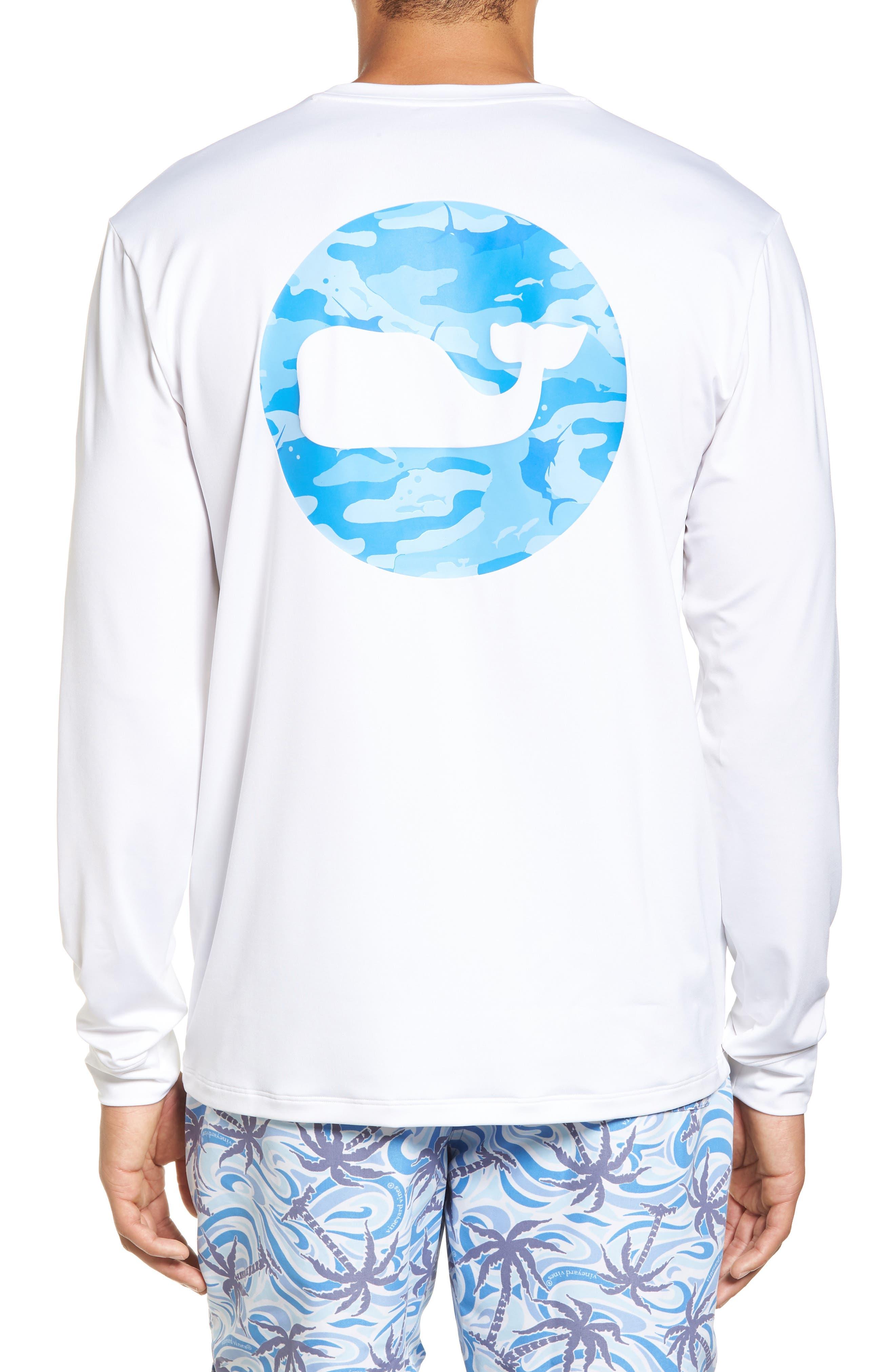 Main Image - vineyard vines Marlin Whale Dot Performance T-Shirt