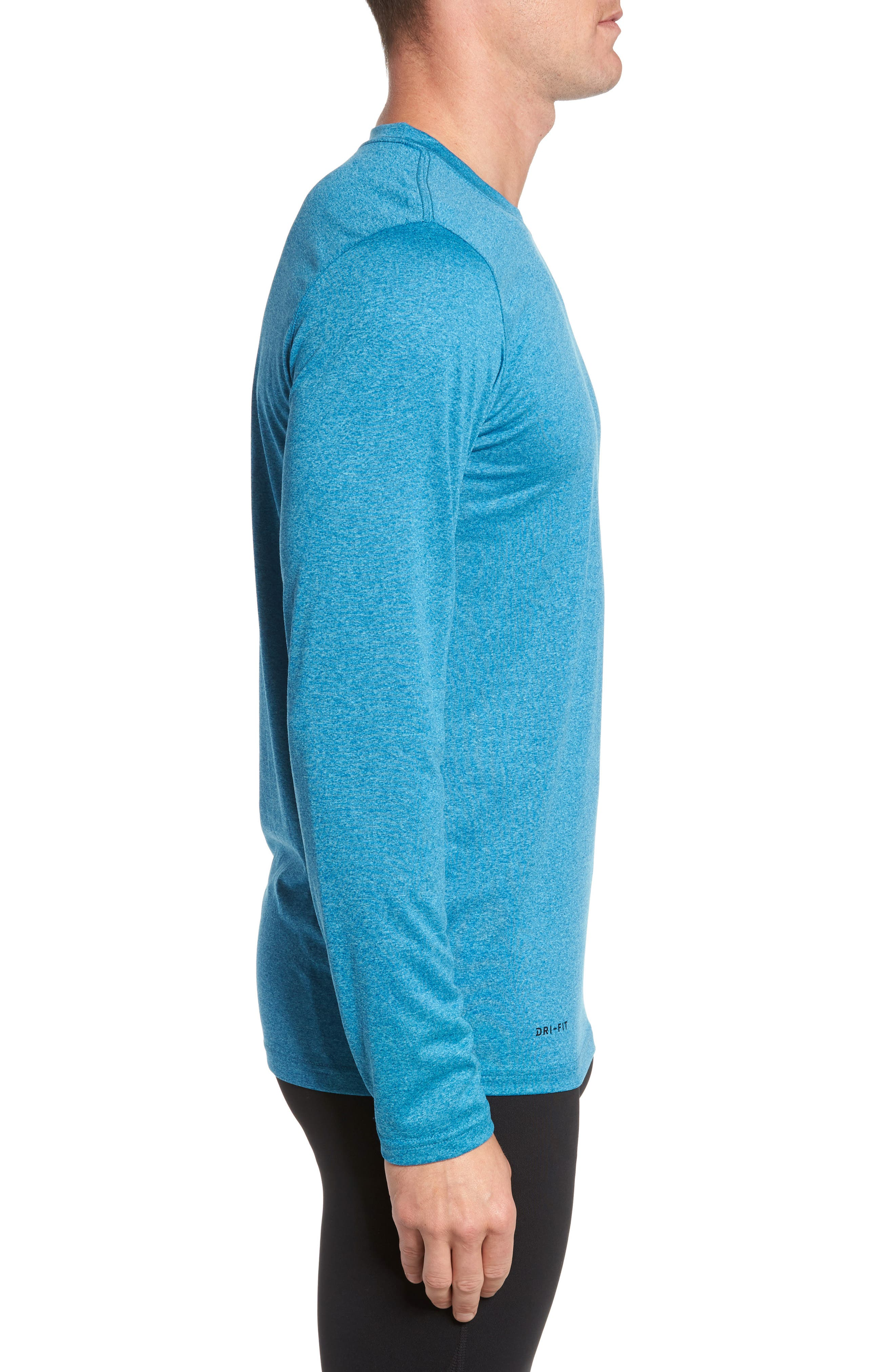 Alternate Image 3  - Nike 'Legend 2.0' Long Sleeve Dri-FIT Training T-Shirt