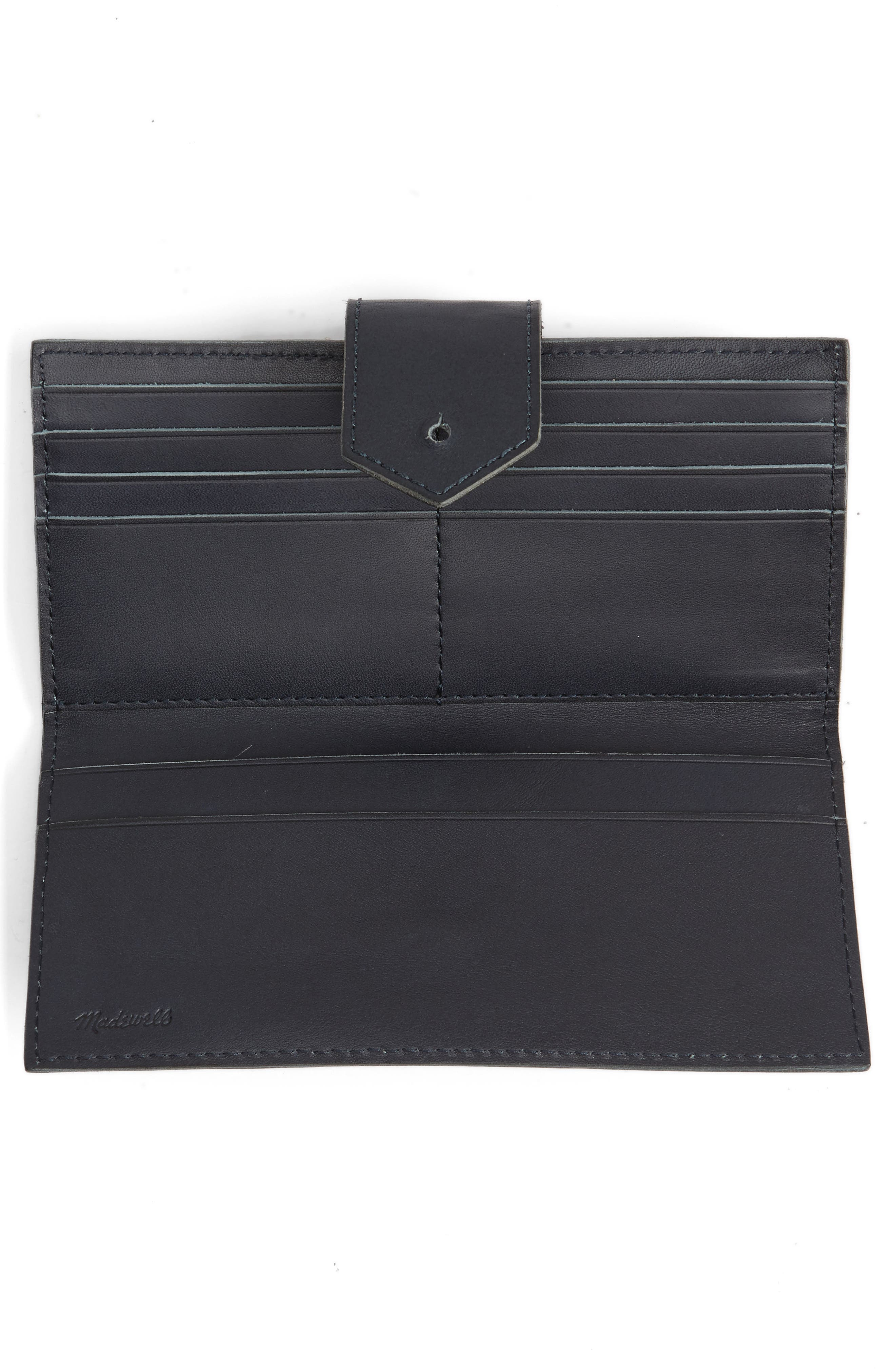 Alternate Image 3  - Madewell The Post Leather Wallet