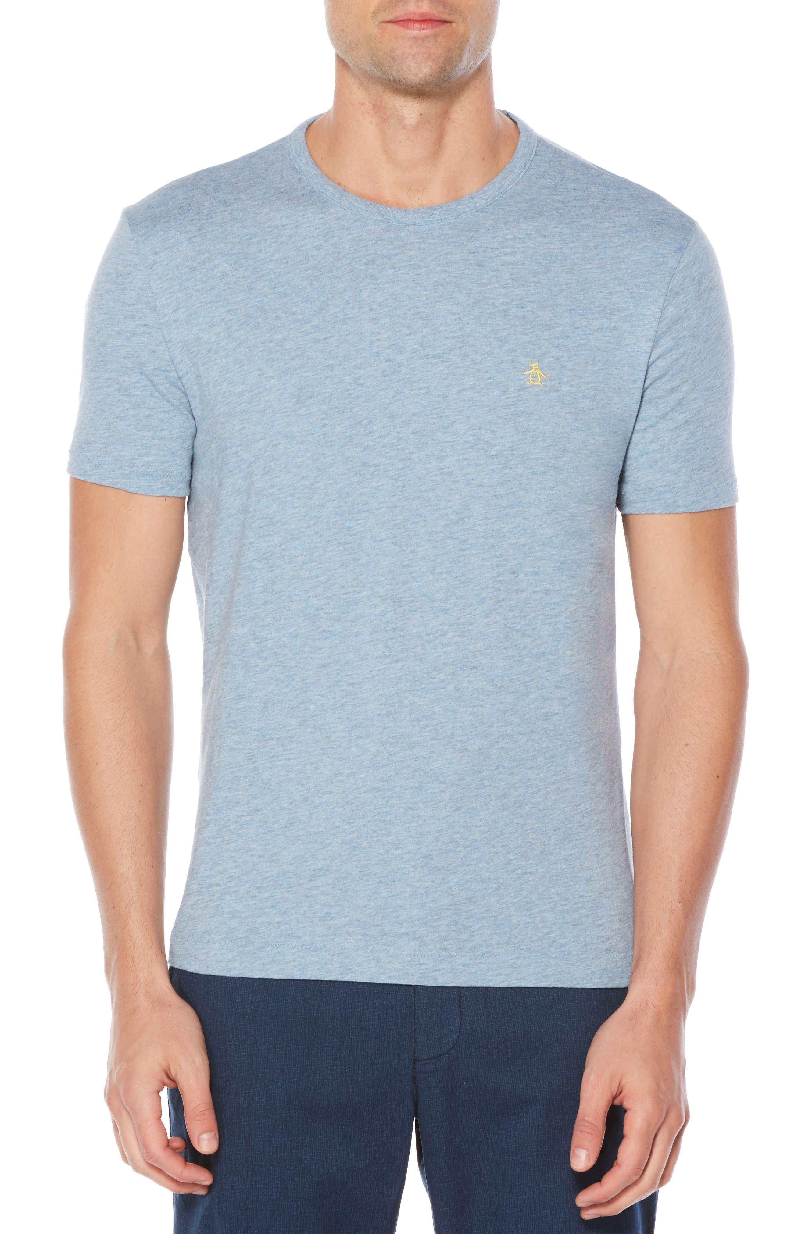 Slub Cotton T-Shirt,                         Main,                         color, Faded Denim