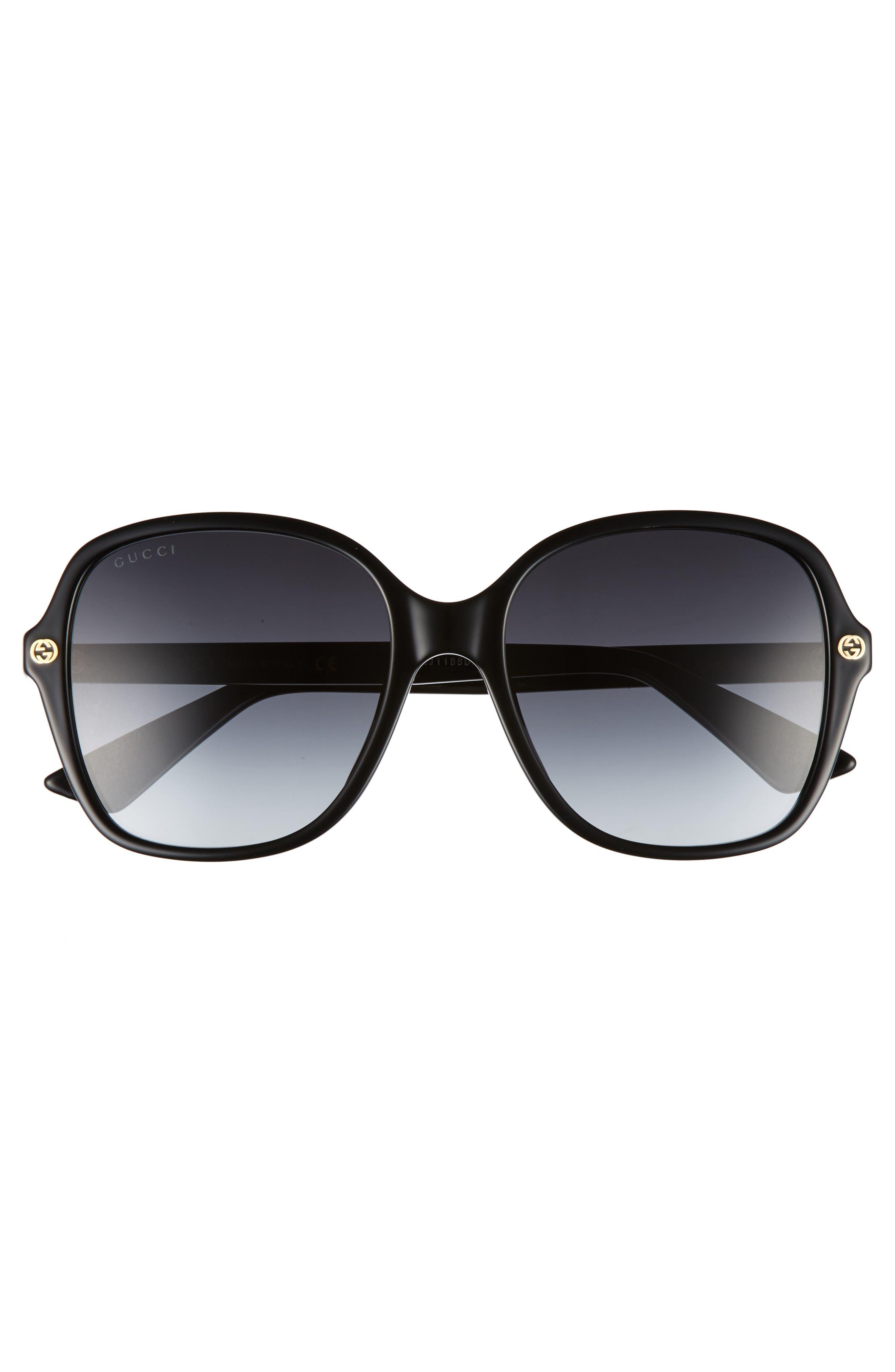 Alternate Image 3  - Gucci 55mm Gradient Sunglasses