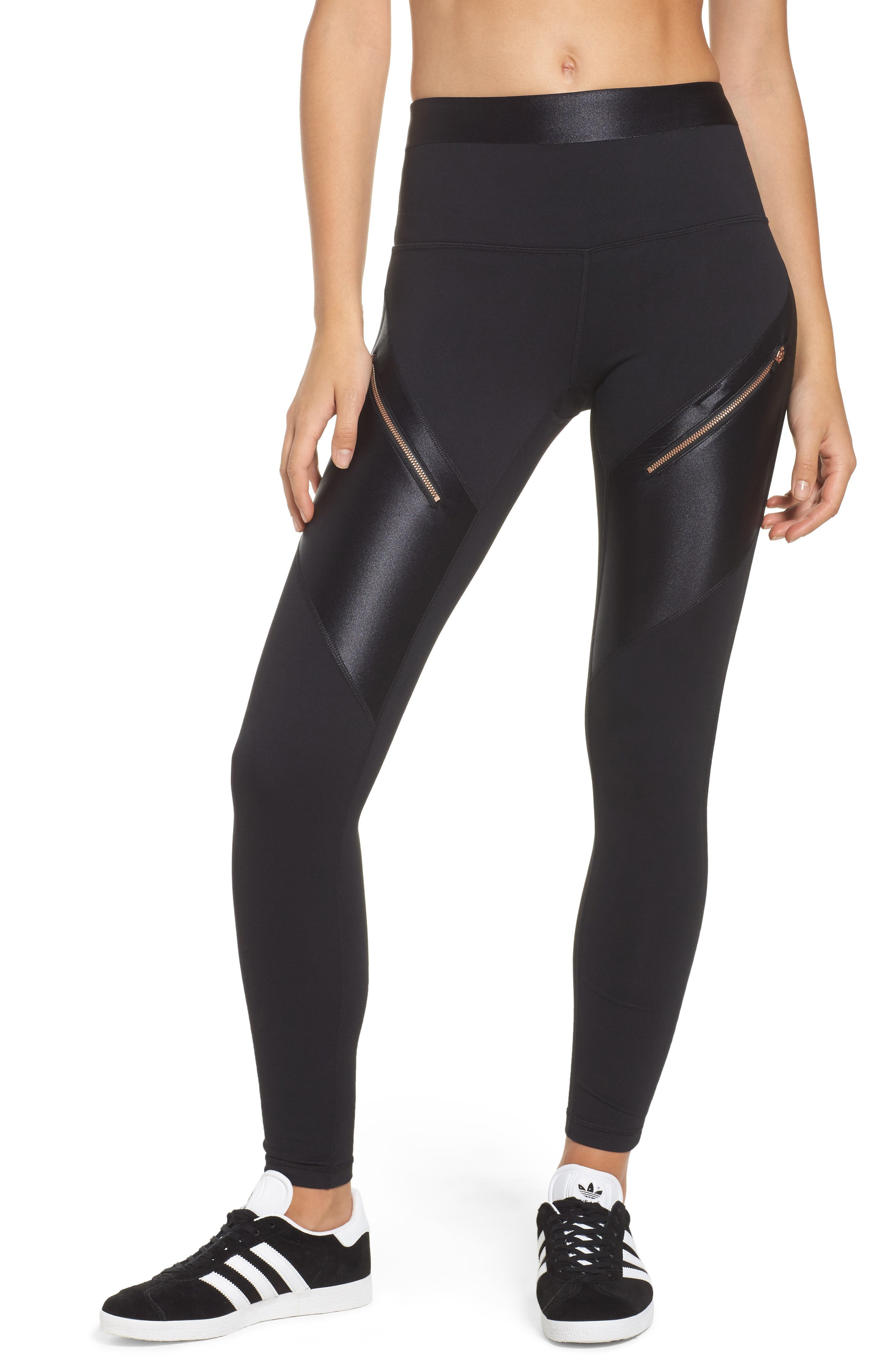Zella Rosy Days High Waist Ankle Leggings