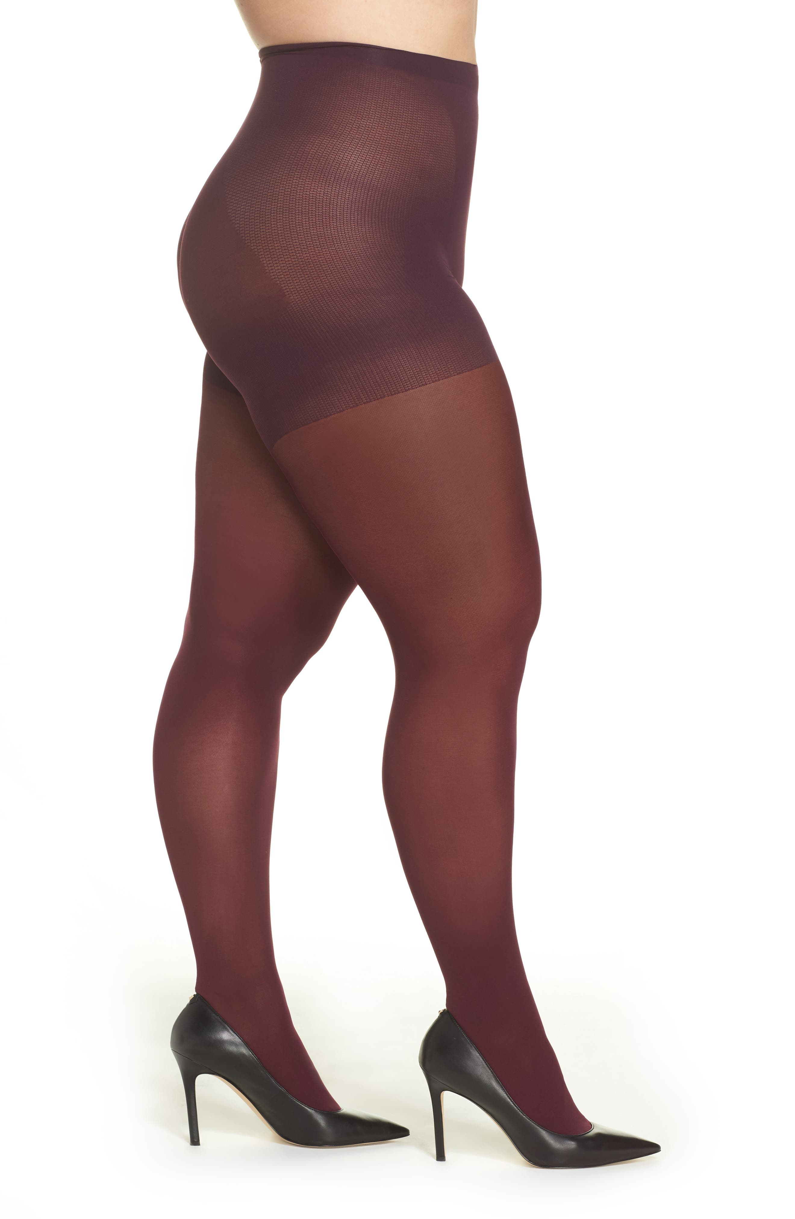 Alternate Image 1 Selected - Berkshire Easy-On Tights (Plus Size) (2 for $26)