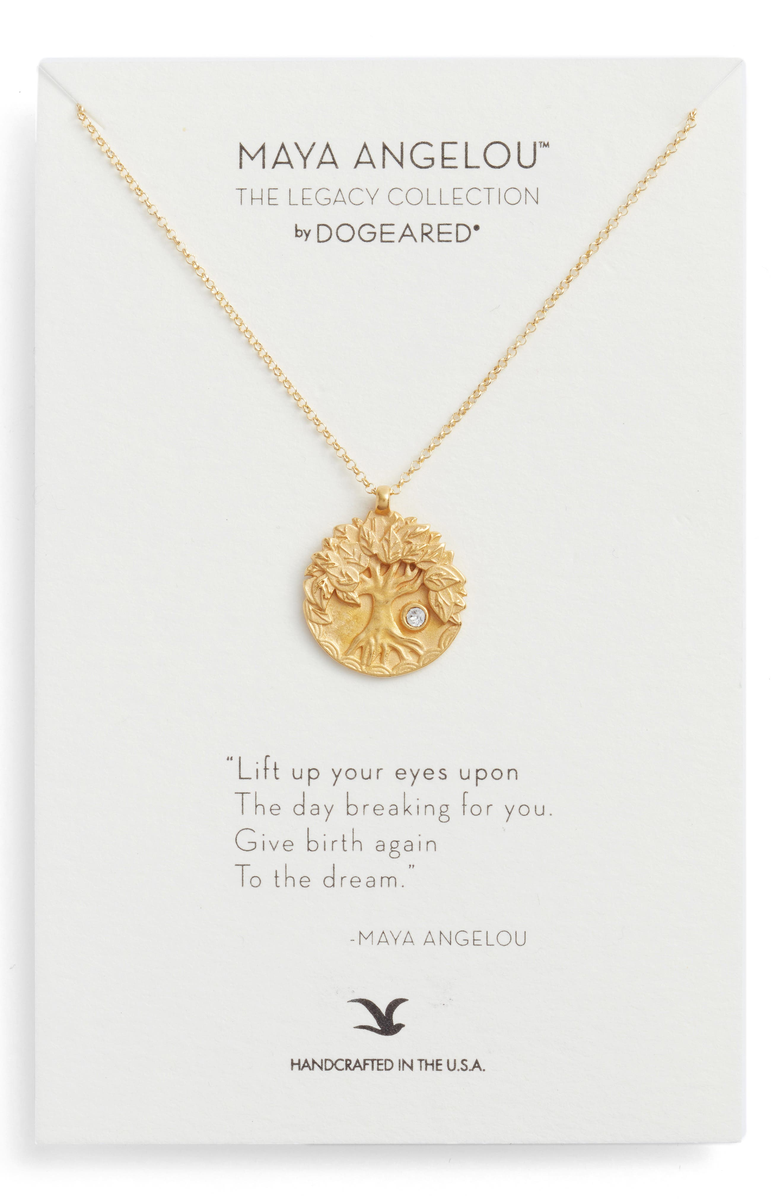 Main Image - Dogeared The Legacy Collection - Lift Up Your Eyes Upon... Pendant Necklace