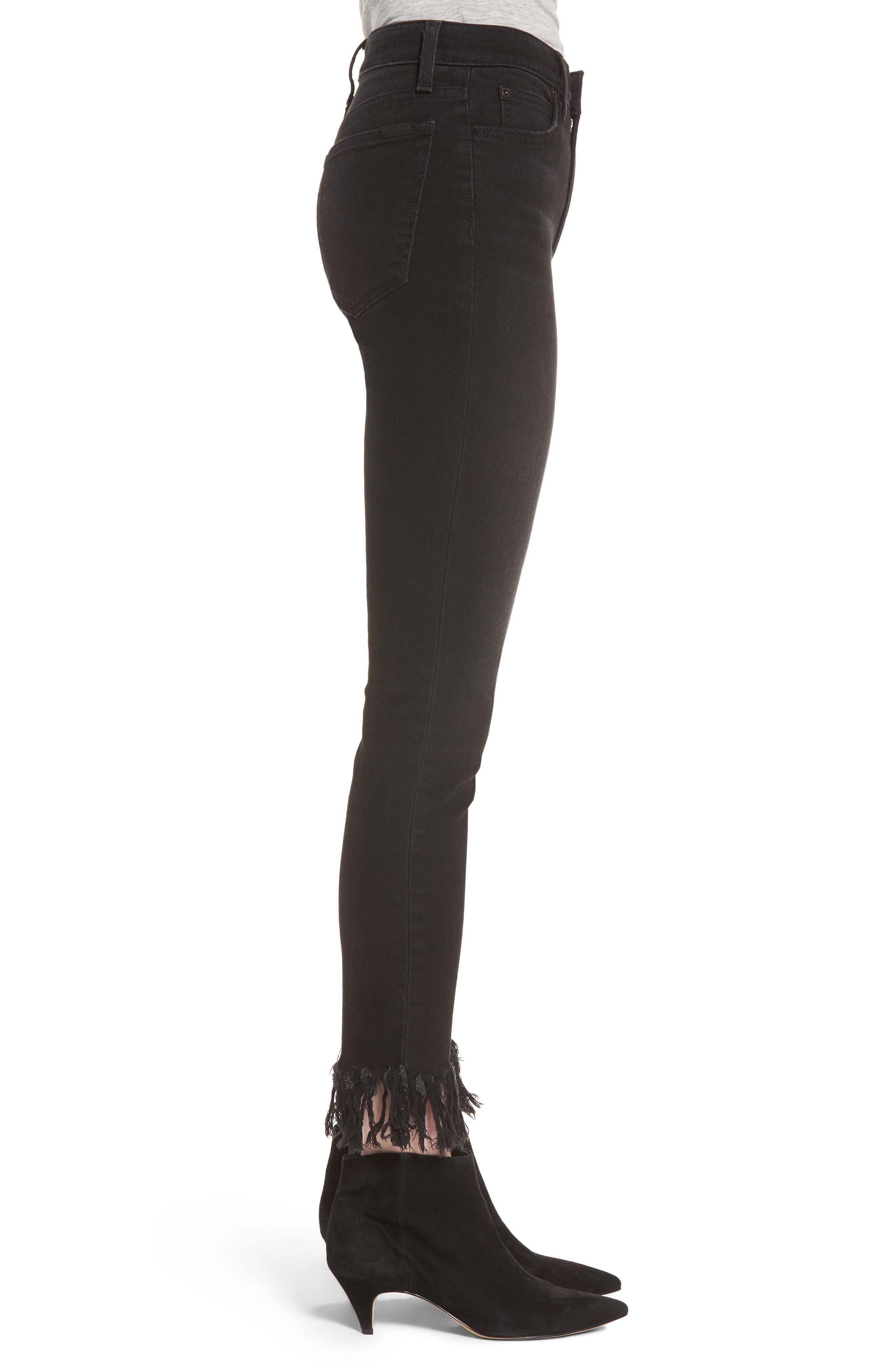 Alternate Image 3  - Joe's Charlie High Waist Ankle Skinny Jeans (Shellie)