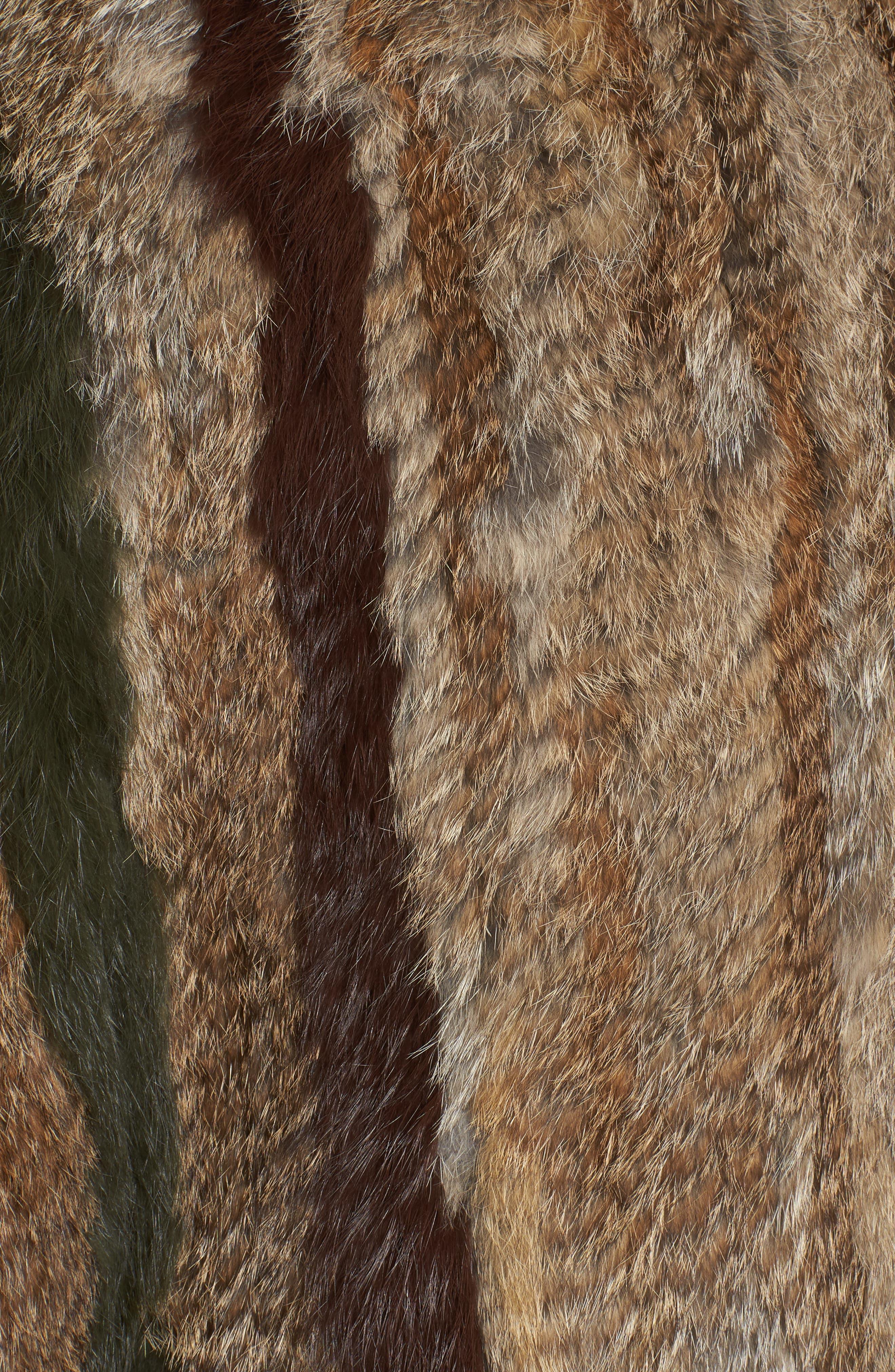 Alternate Image 6  - BNCI Nomad Genuine Rabbit Fur Pullover