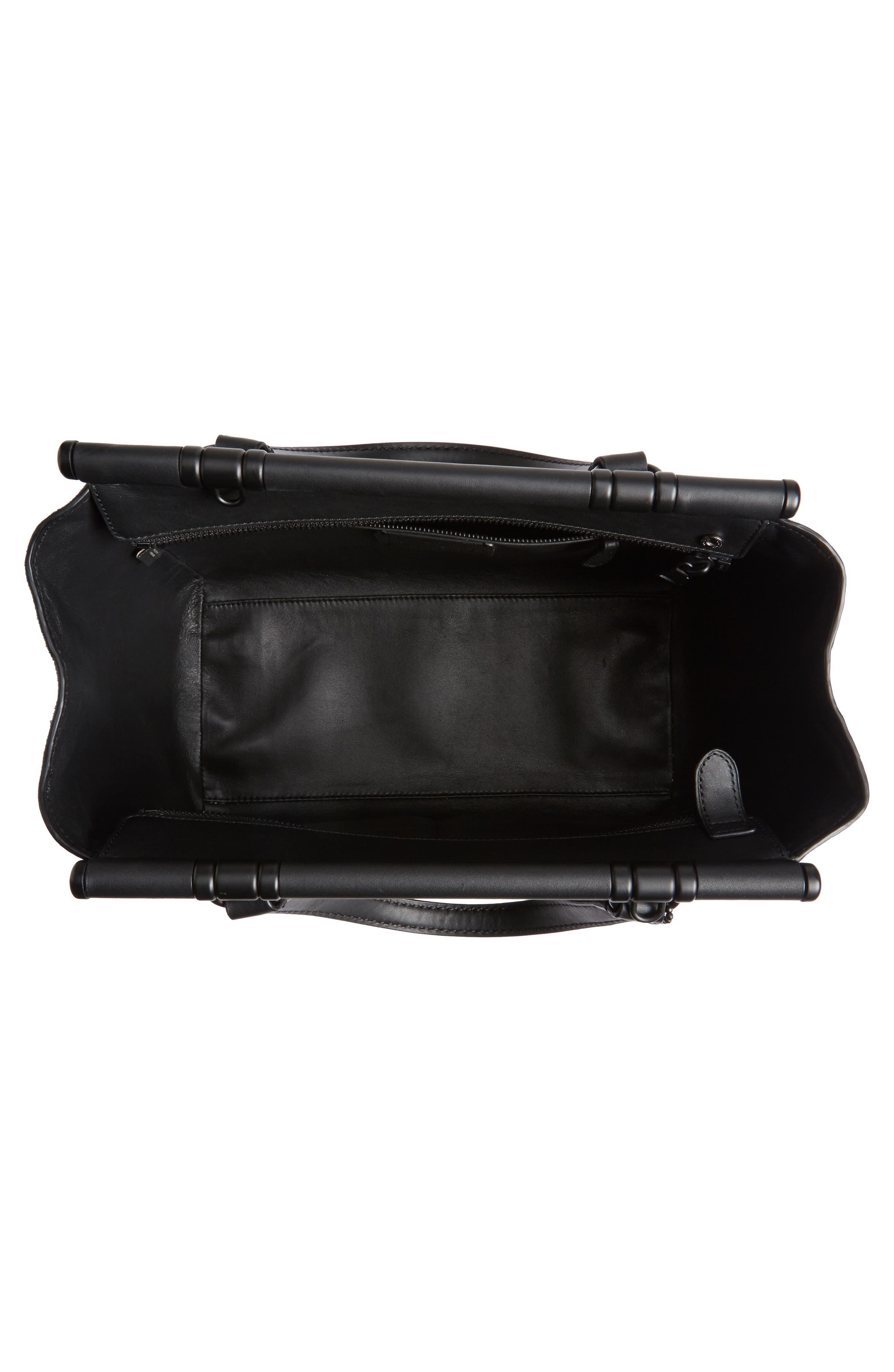 Alternate Image 3  - COACH Mixed Leather Satchel