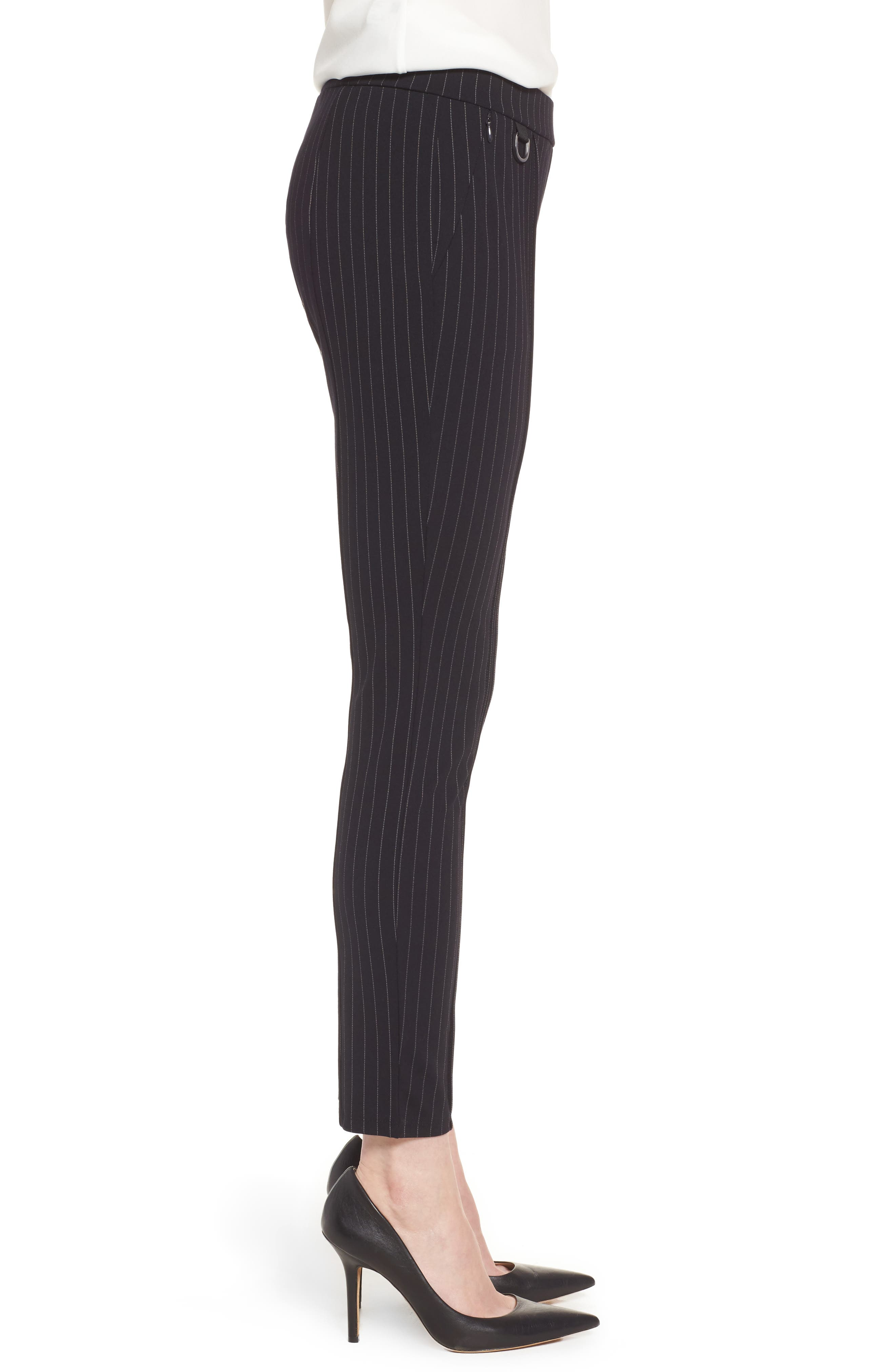 Alternate Image 3  - Kenneth Cole New York Pinstripe Leggings