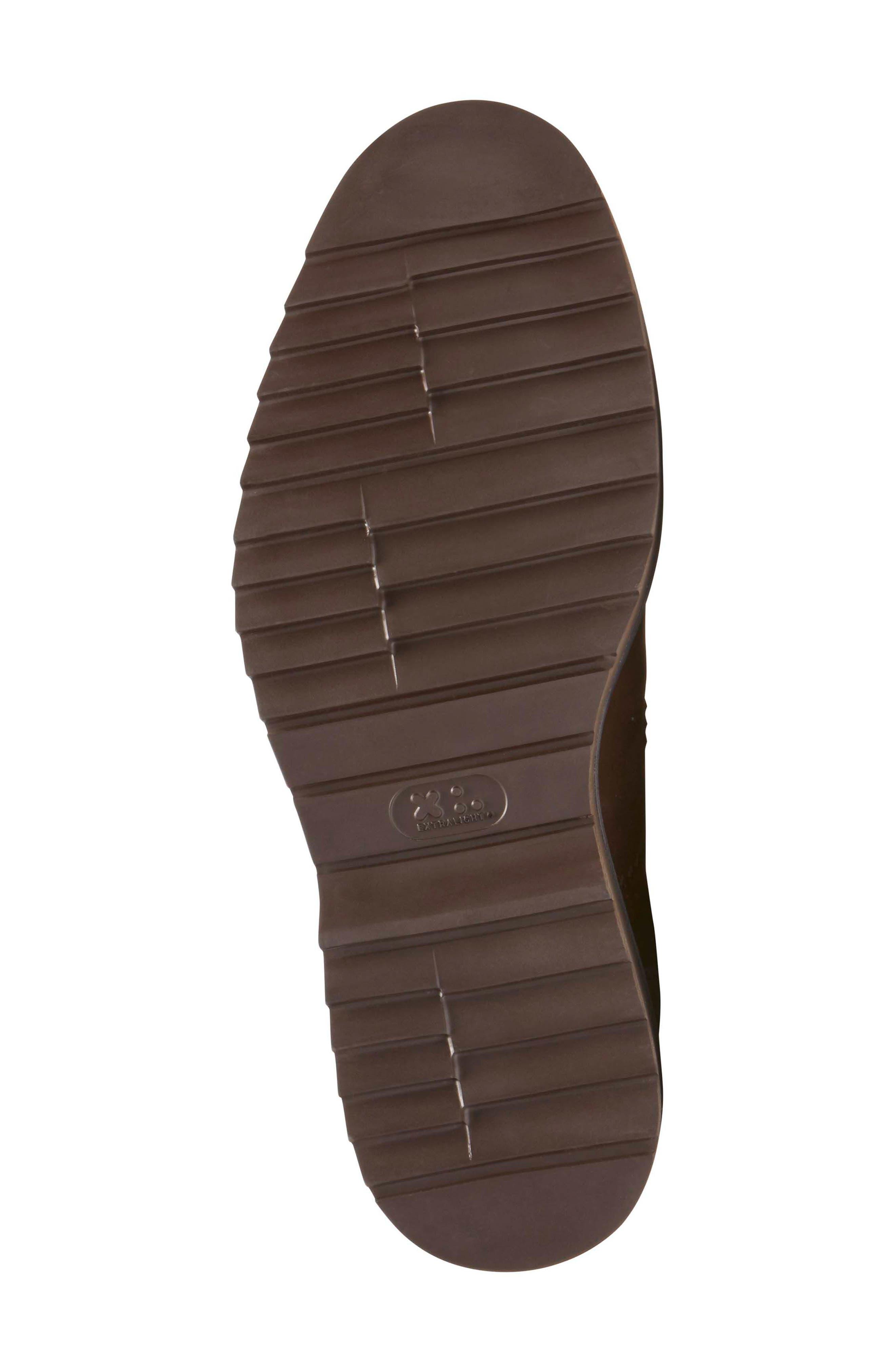 Jaxson Chukka Boot,                             Alternate thumbnail 6, color,                             Brown/ Brown Leather