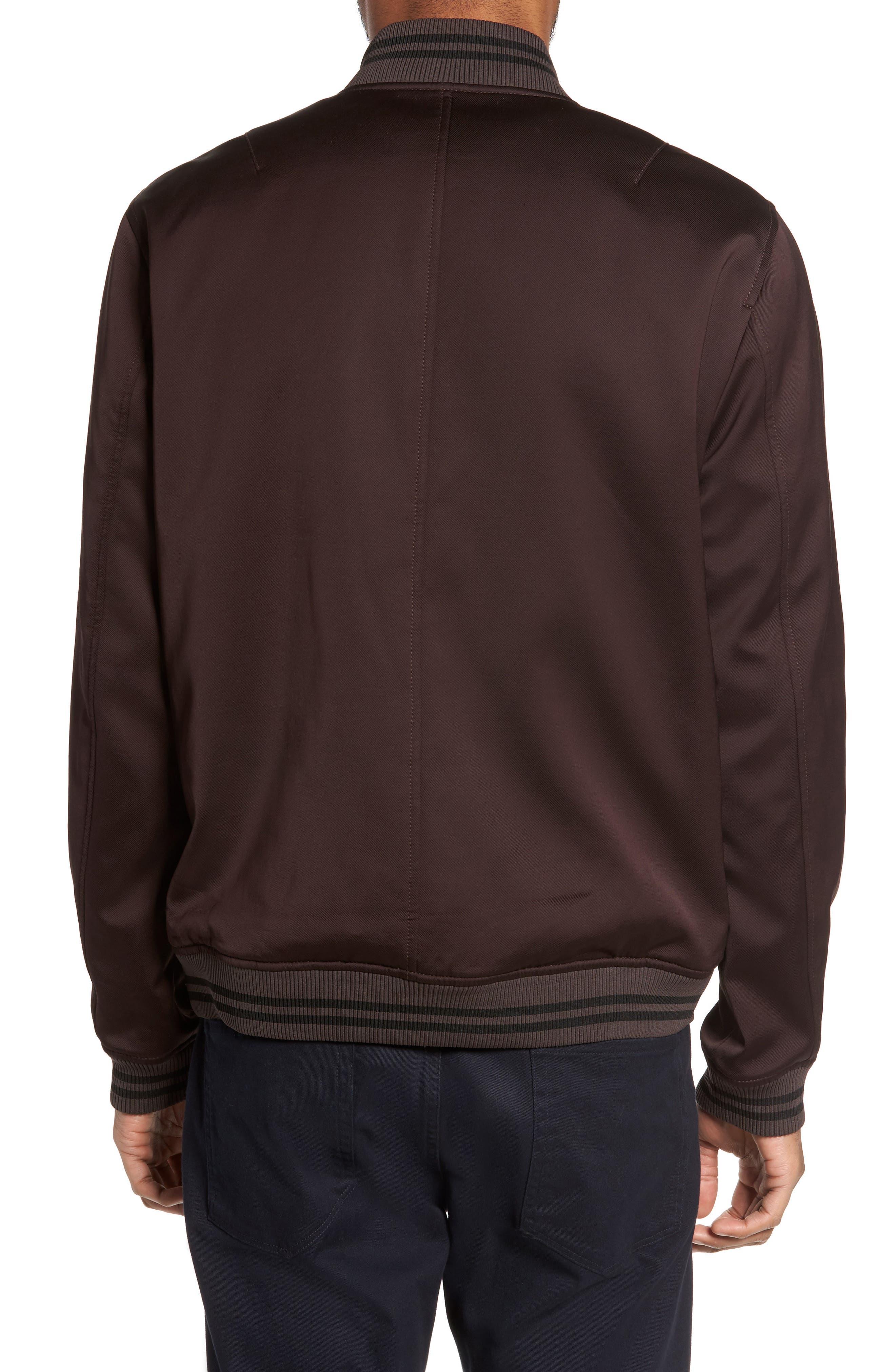 Varsity Jacket,                             Alternate thumbnail 2, color,                             Zinfandel