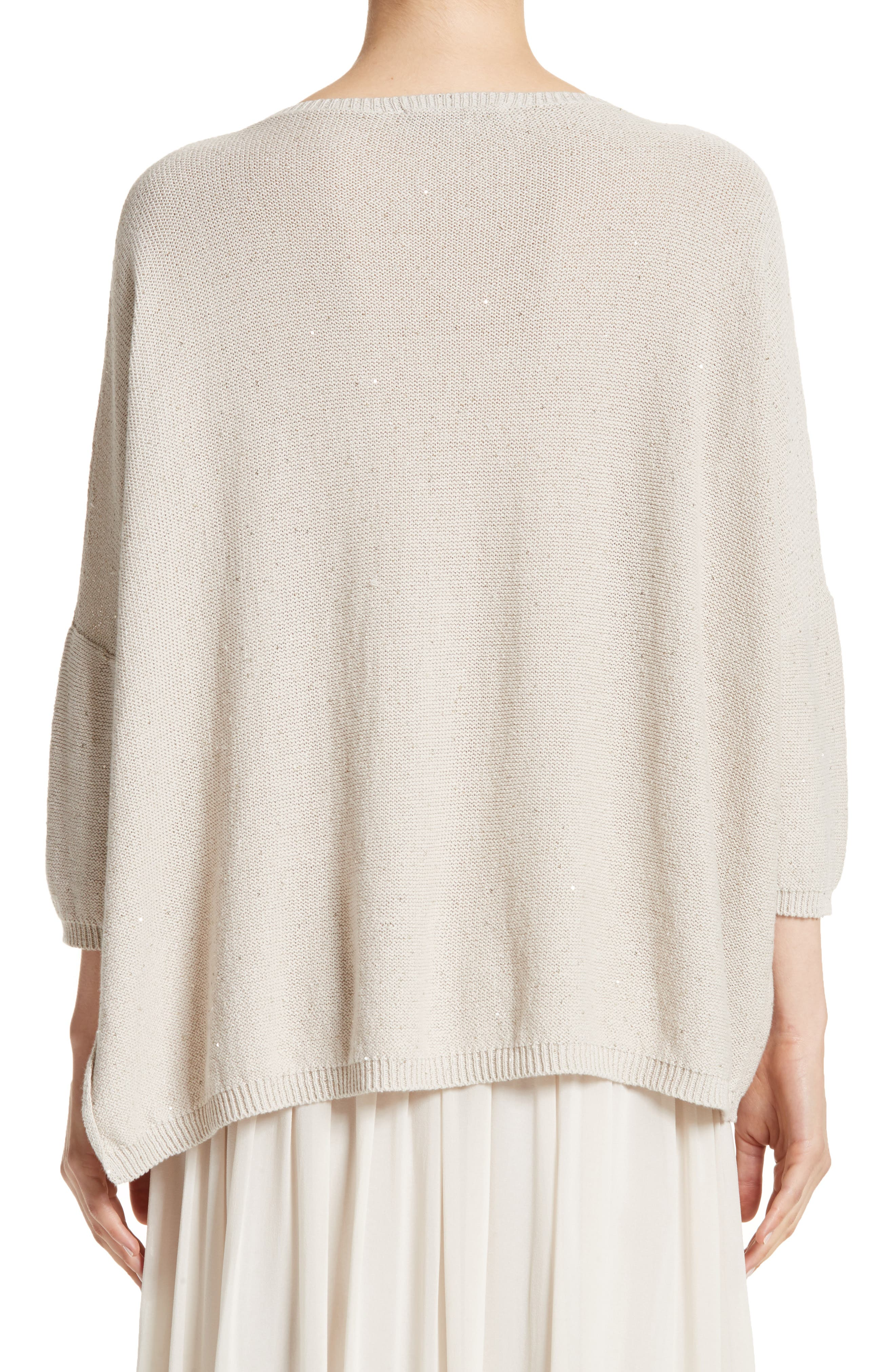 Alternate Image 3  - Fabiana Filippi Sequin Knit Dolman Sweater