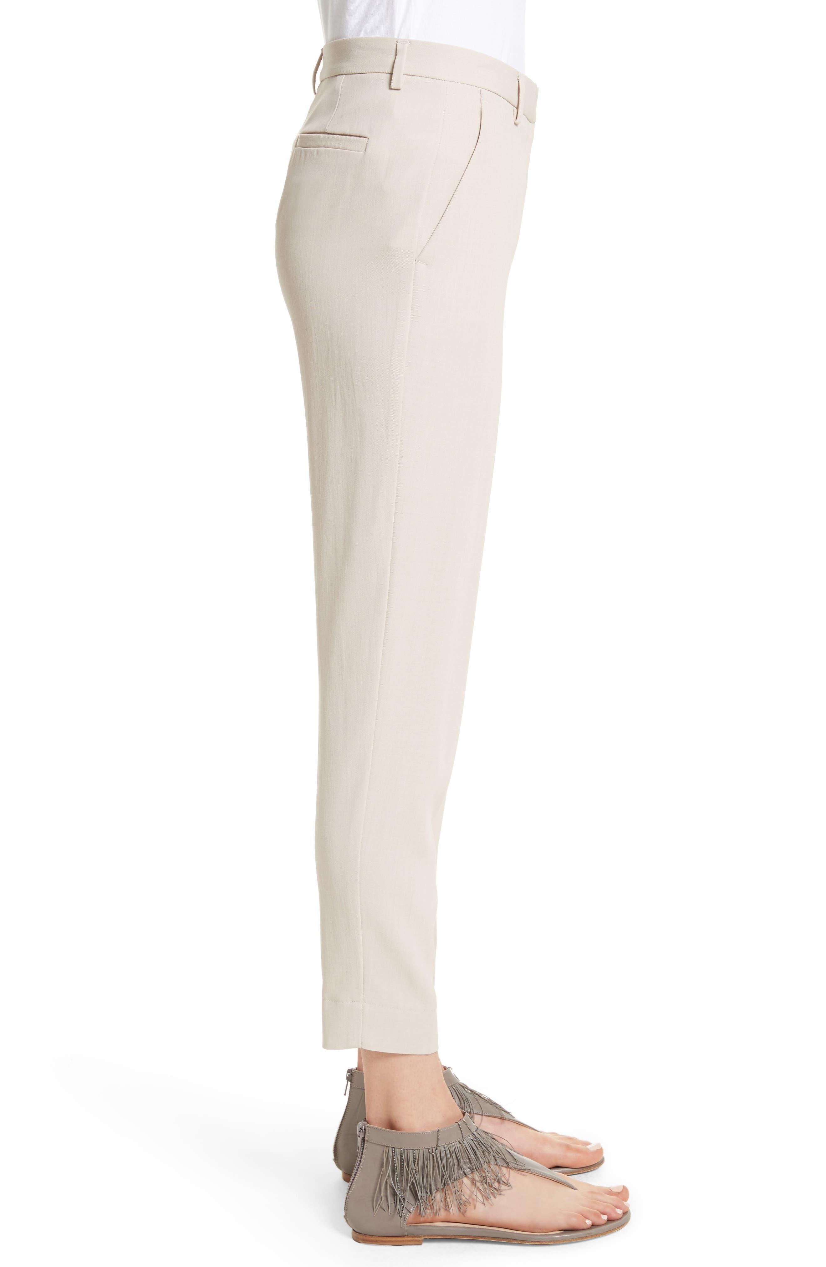 Alternate Image 3  - Fabiana Filippi Wool Blend Ankle Pants