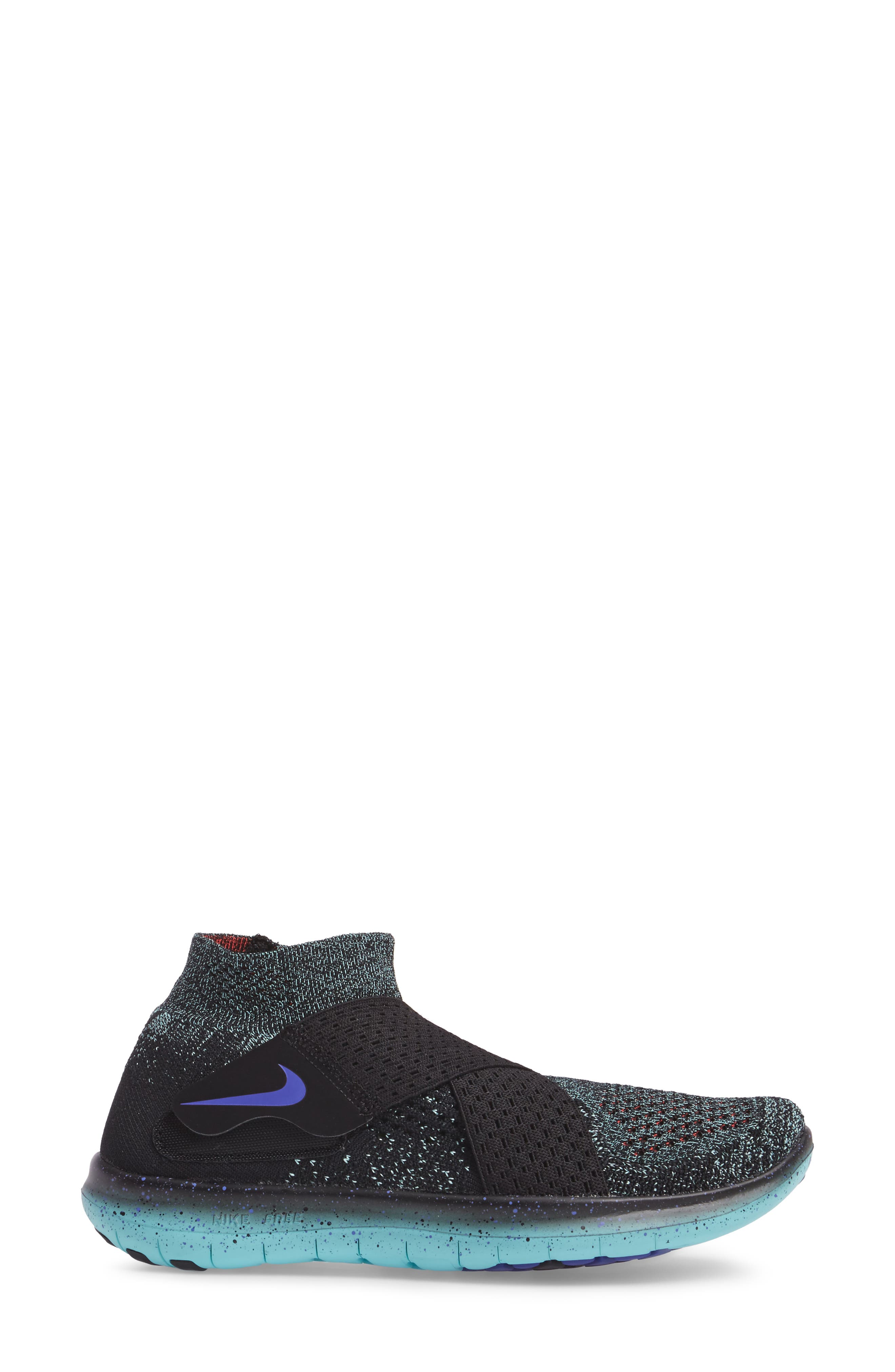 Alternate Image 3  - Nike Free Run Flyknit Motion 2017 (Women)
