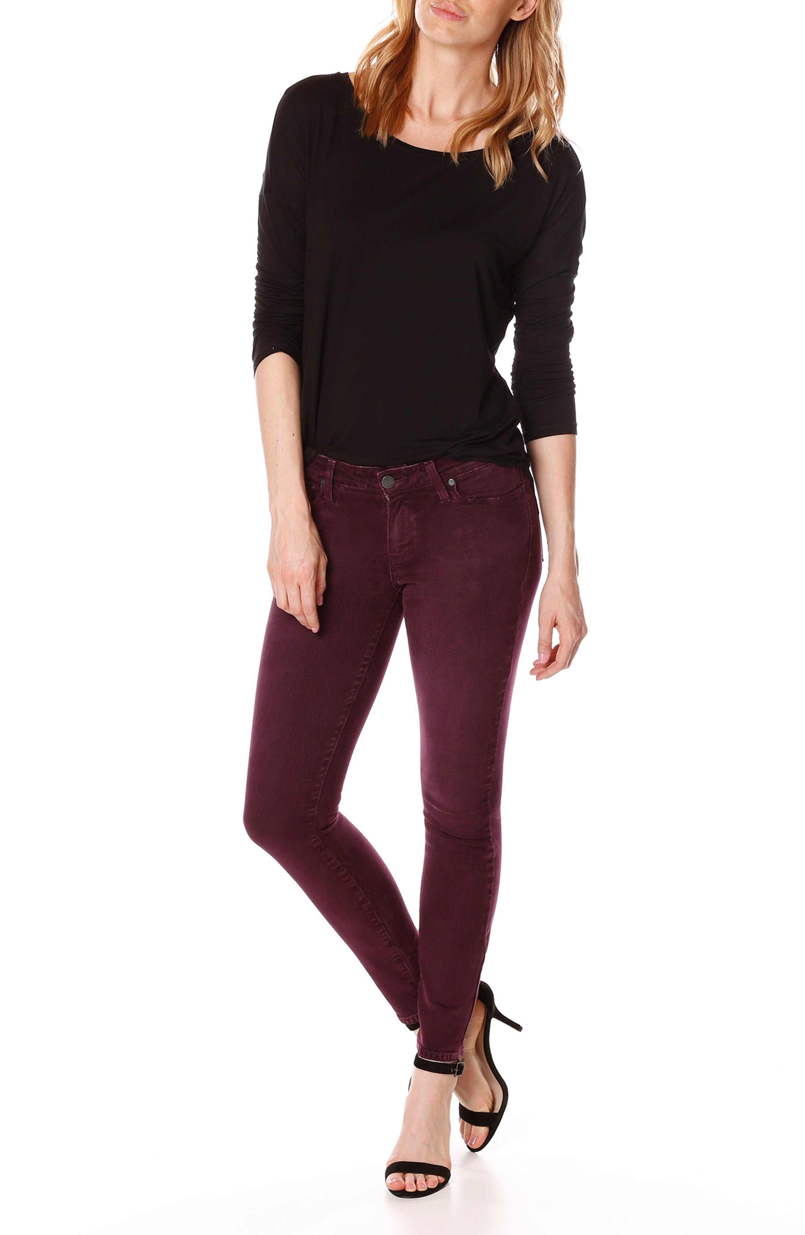 Alternate Image 2  - PAIGE Verdugo Ankle Skinny Jeans