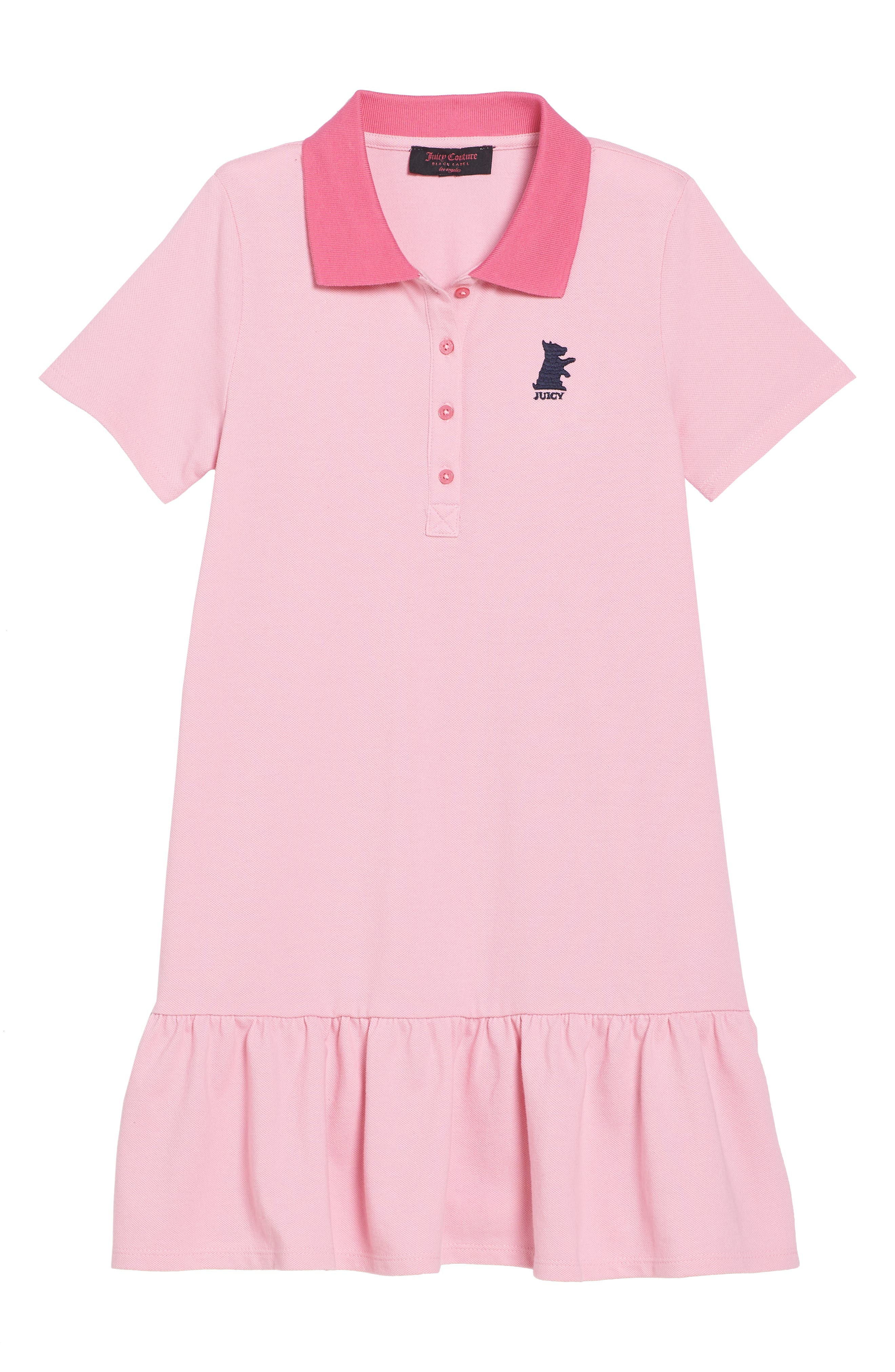 Piqué Polo Dress,                         Main,                         color, Palace