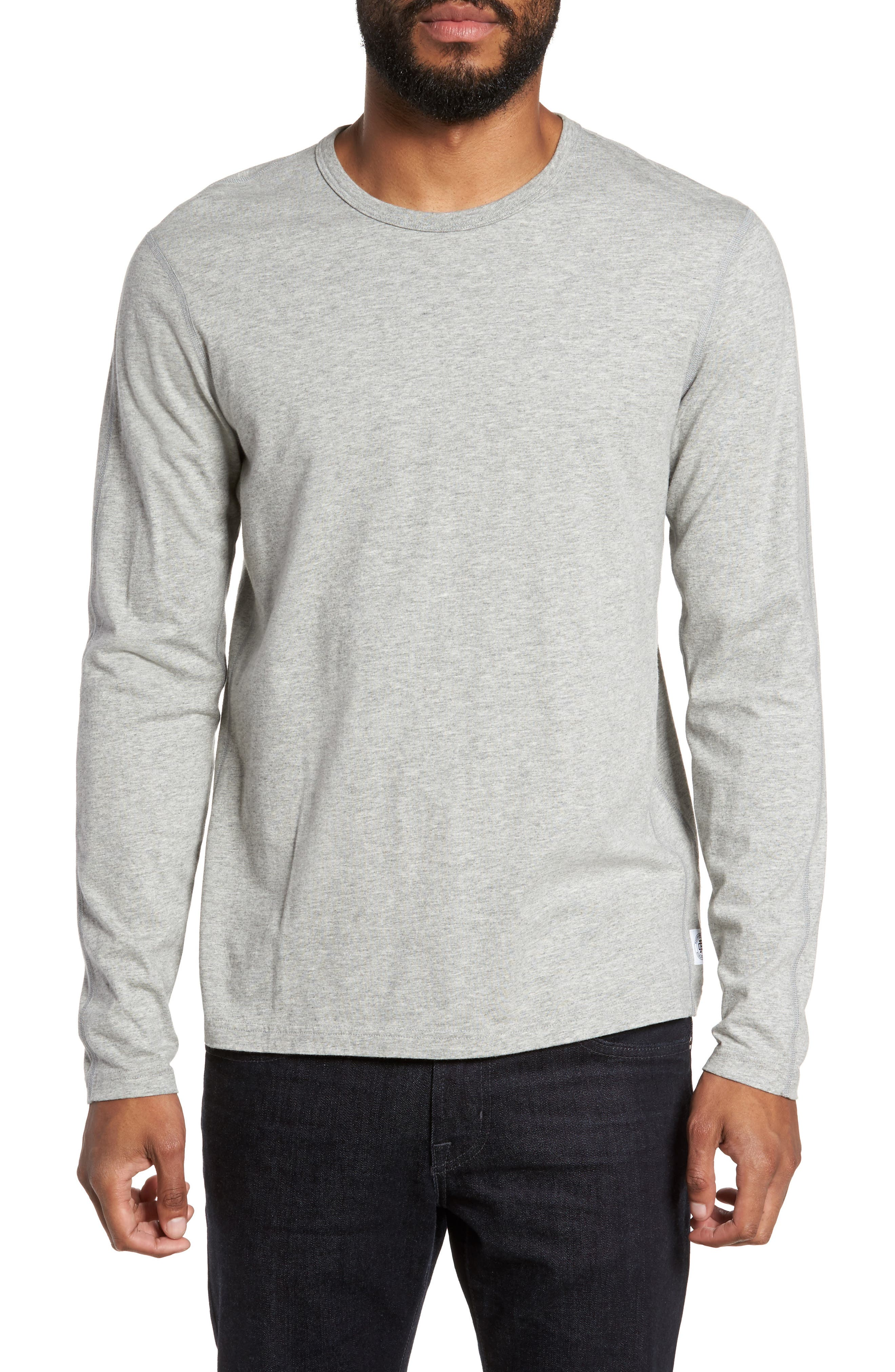 Reigning Champ Crewneck Long Sleeve T-Shirt