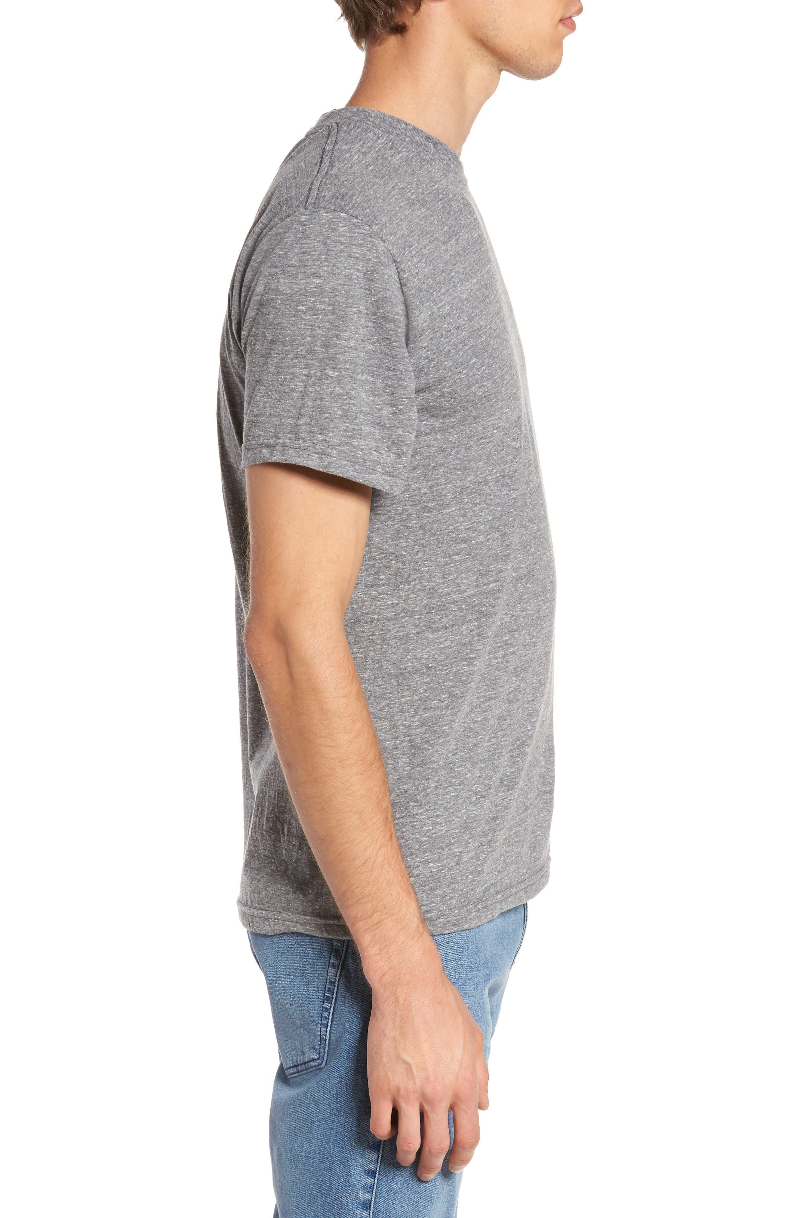 Burning Marshmallows T-Shirt,                             Alternate thumbnail 3, color,                             Triblend Grey