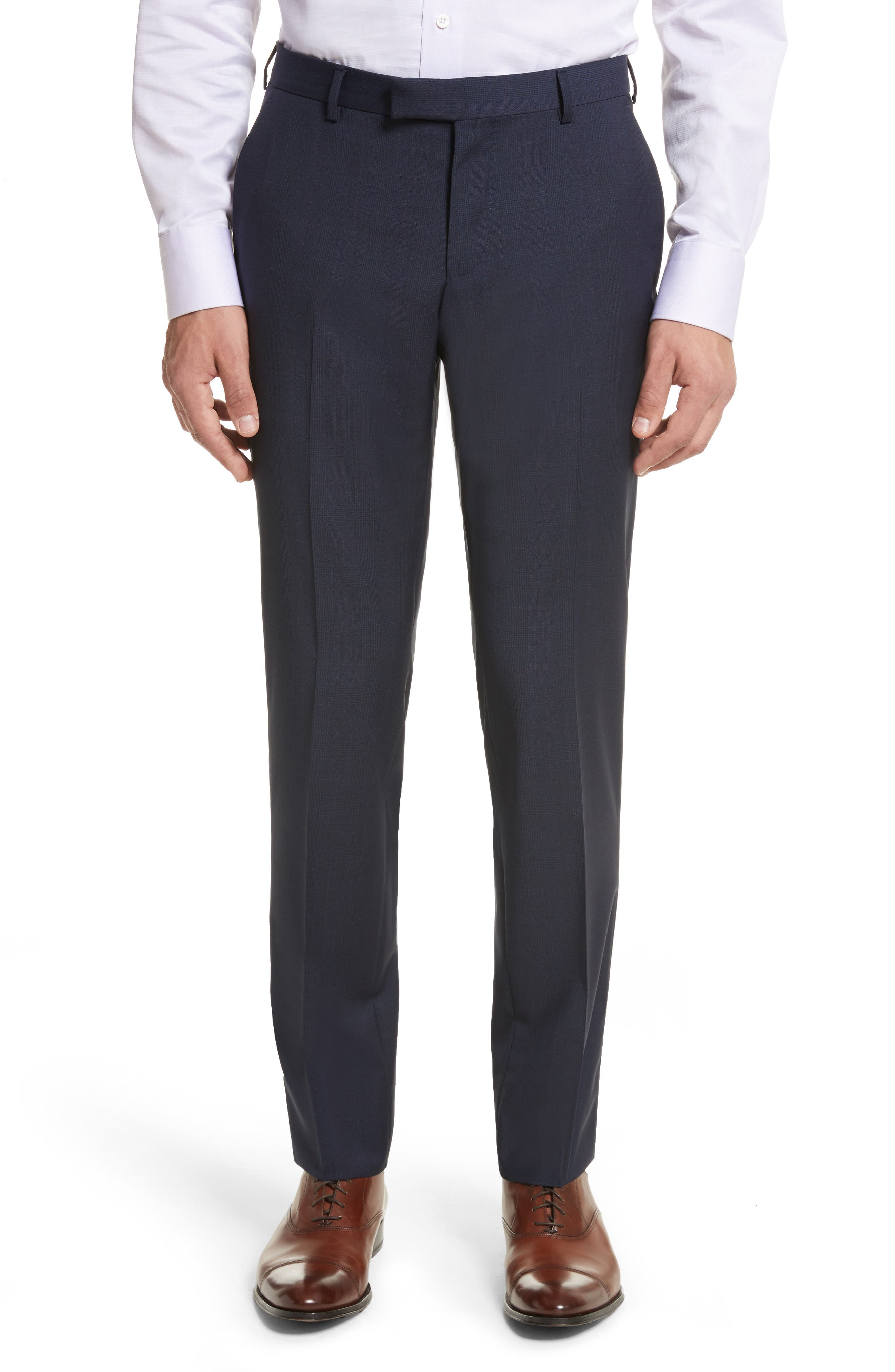 Alternate Image 6  - Z Zegna Classic Fit Check Wool Suit
