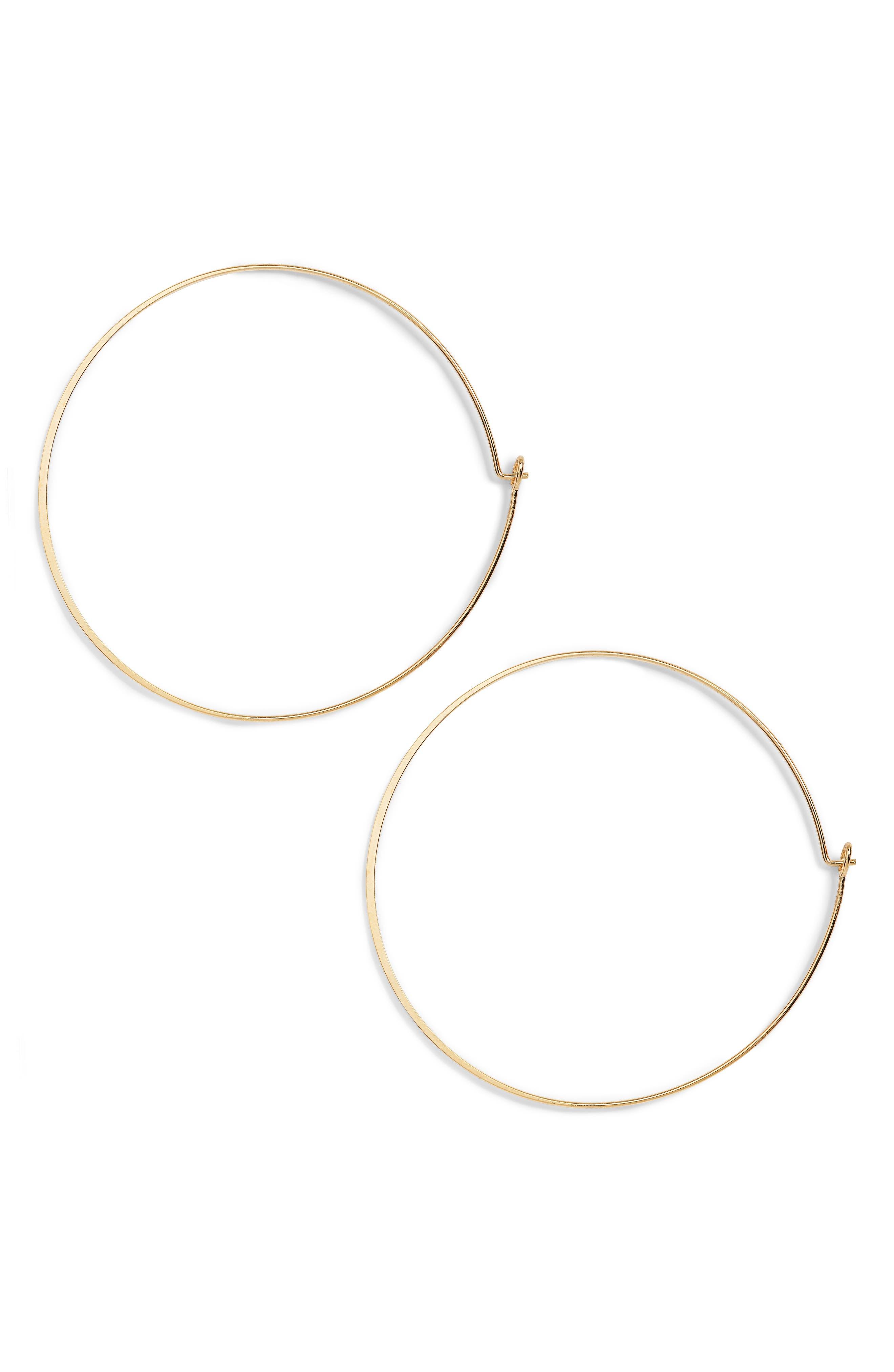 Alternate Image 1 Selected - Jules Smith Suki Hoop Earrings