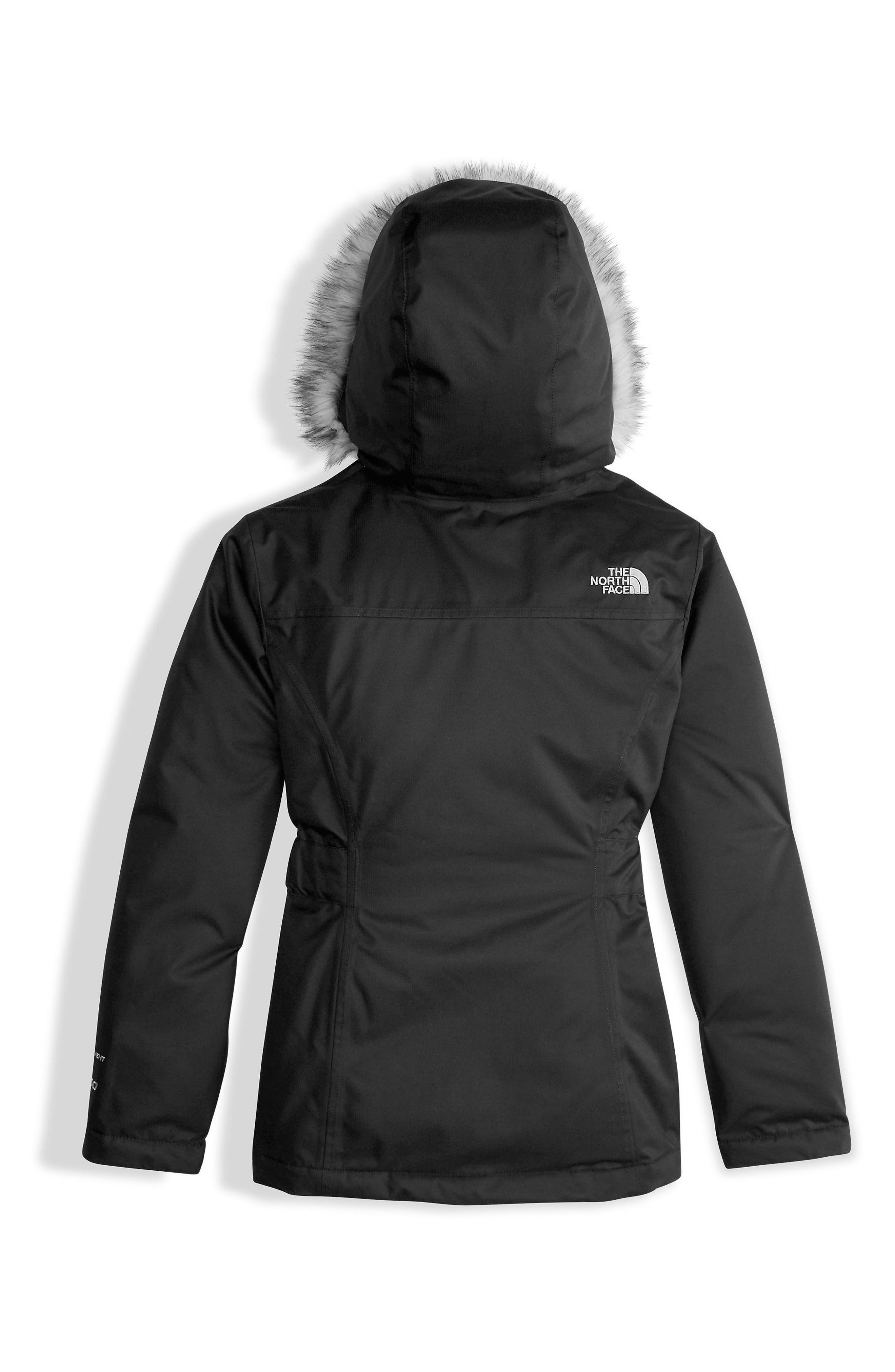 Greenland Waterproof 550-Fill Down Jacket,                             Alternate thumbnail 2, color,                             Tnf Black