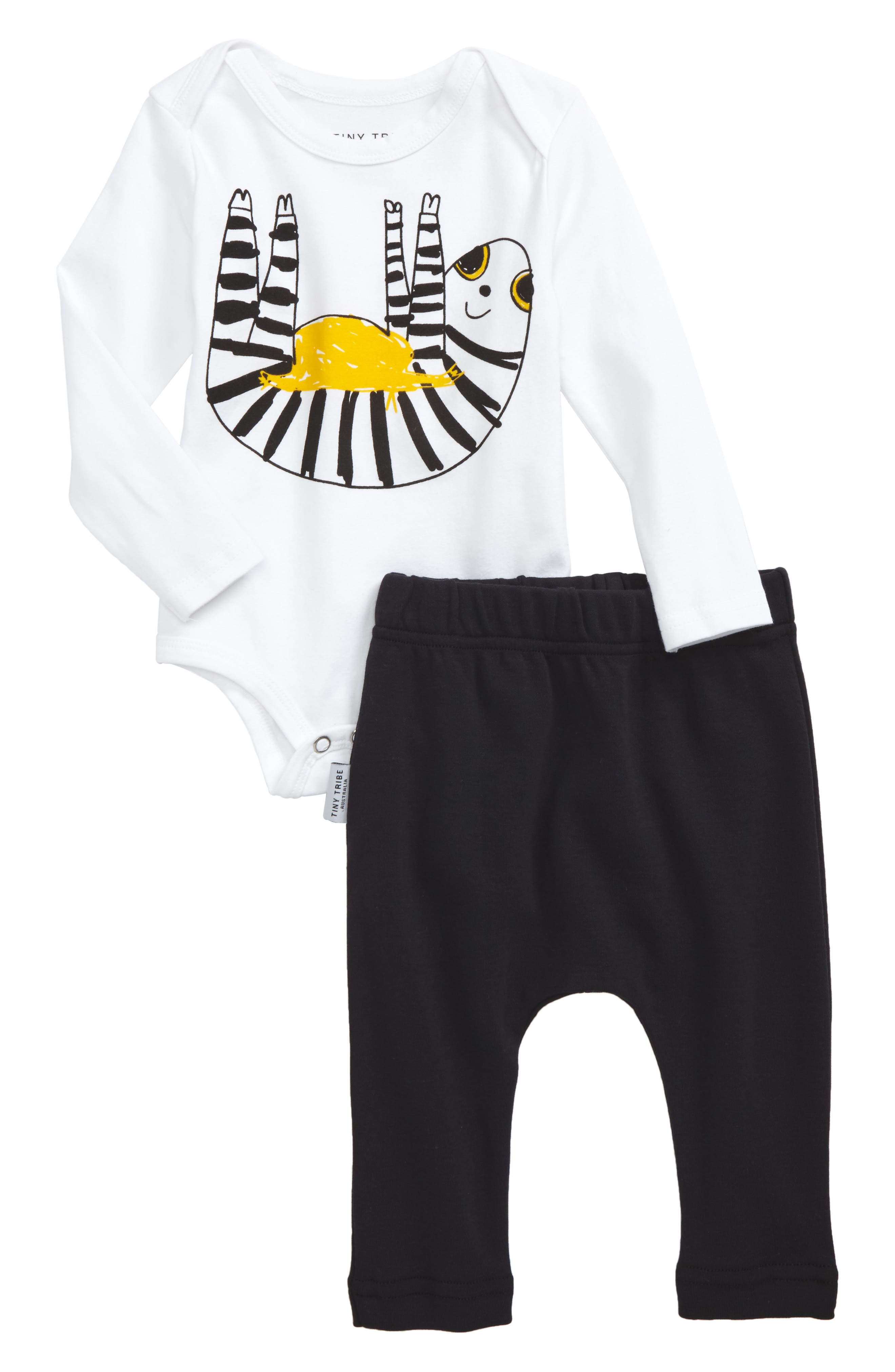 Tiny Tribe Sloth Bodysuit & Leggings Set (Baby)