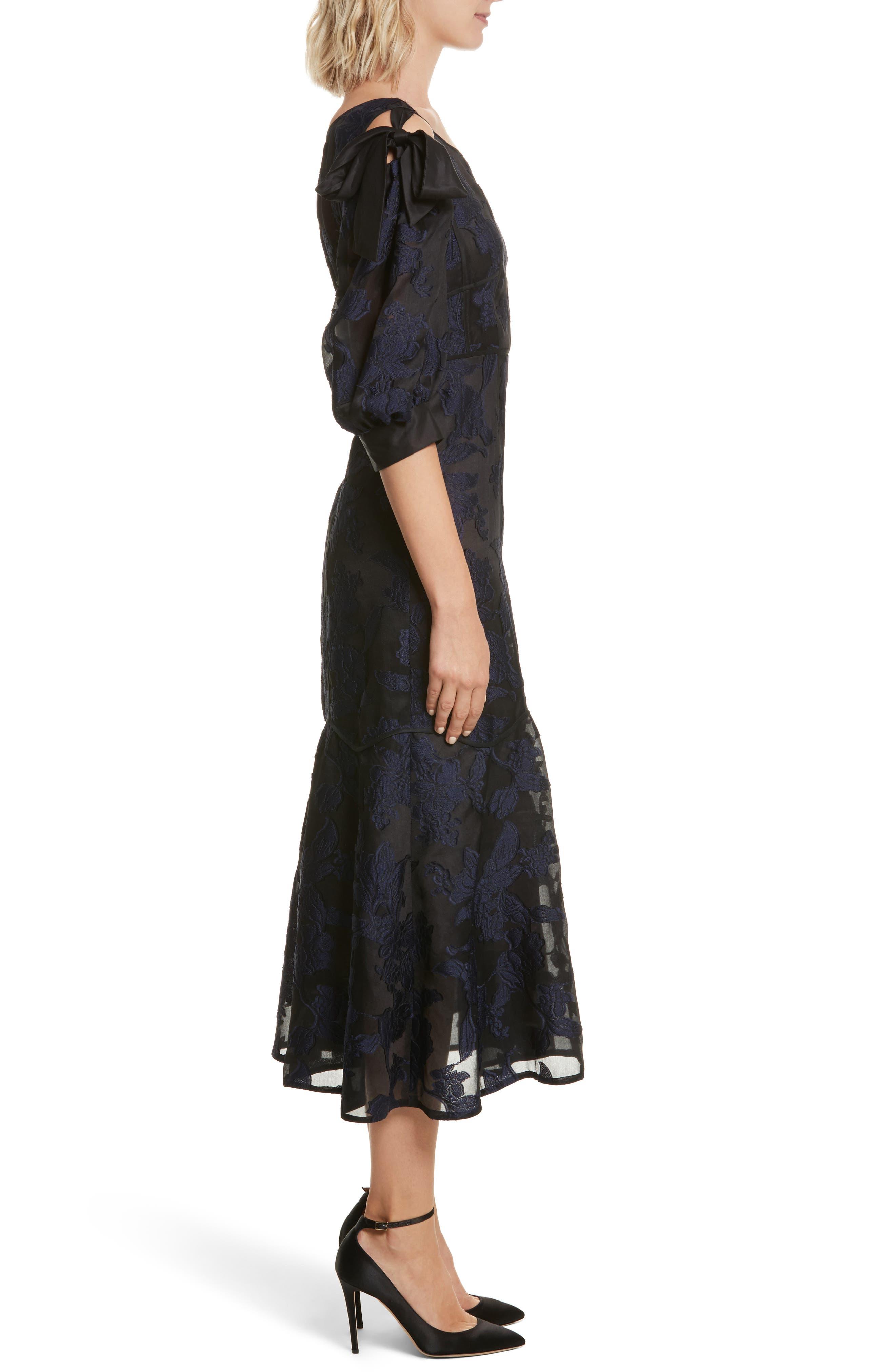 Alternate Image 3  - Rebecca Taylor Floral Organza Maxi Dress