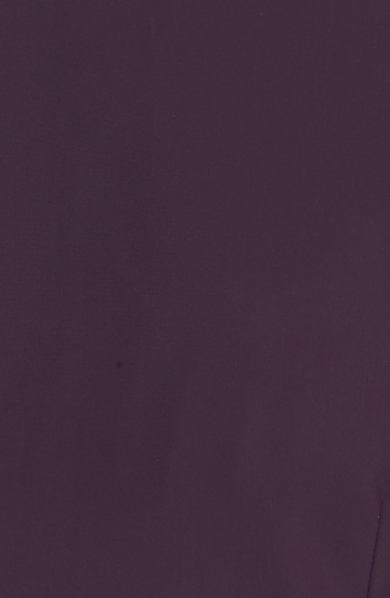 Alternate Image 5  - Alex Evenings Embellished Square Neck Sleeveless Sheath Dress (Plus Size)