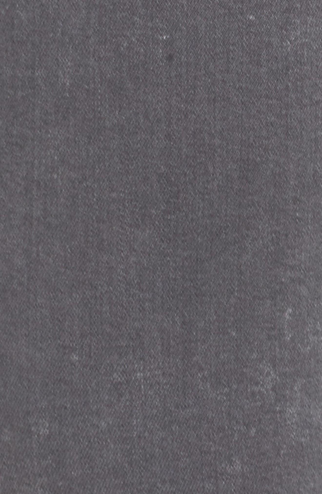 High Waist Ankle Skinny Jeans,                             Alternate thumbnail 5, color,                             Hamilton