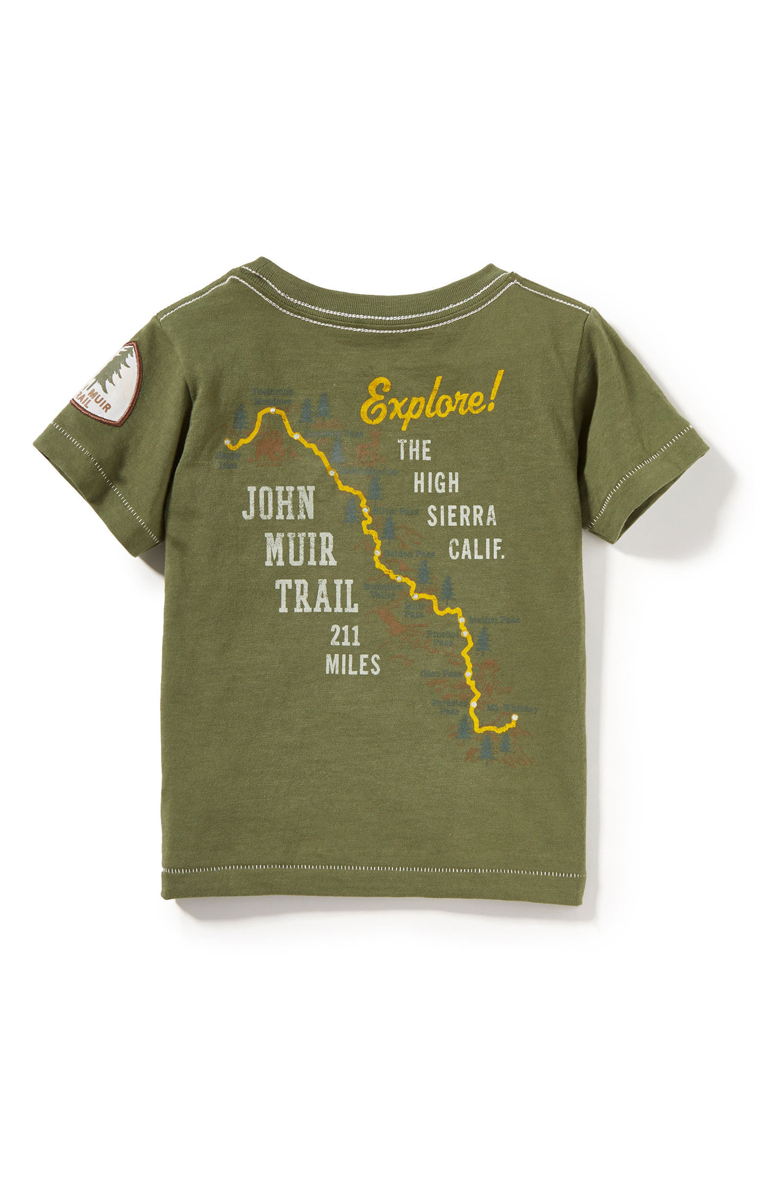 Alternate Image 2  - Peek Mountain Trails Graphic T-Shirt (Baby Boys)