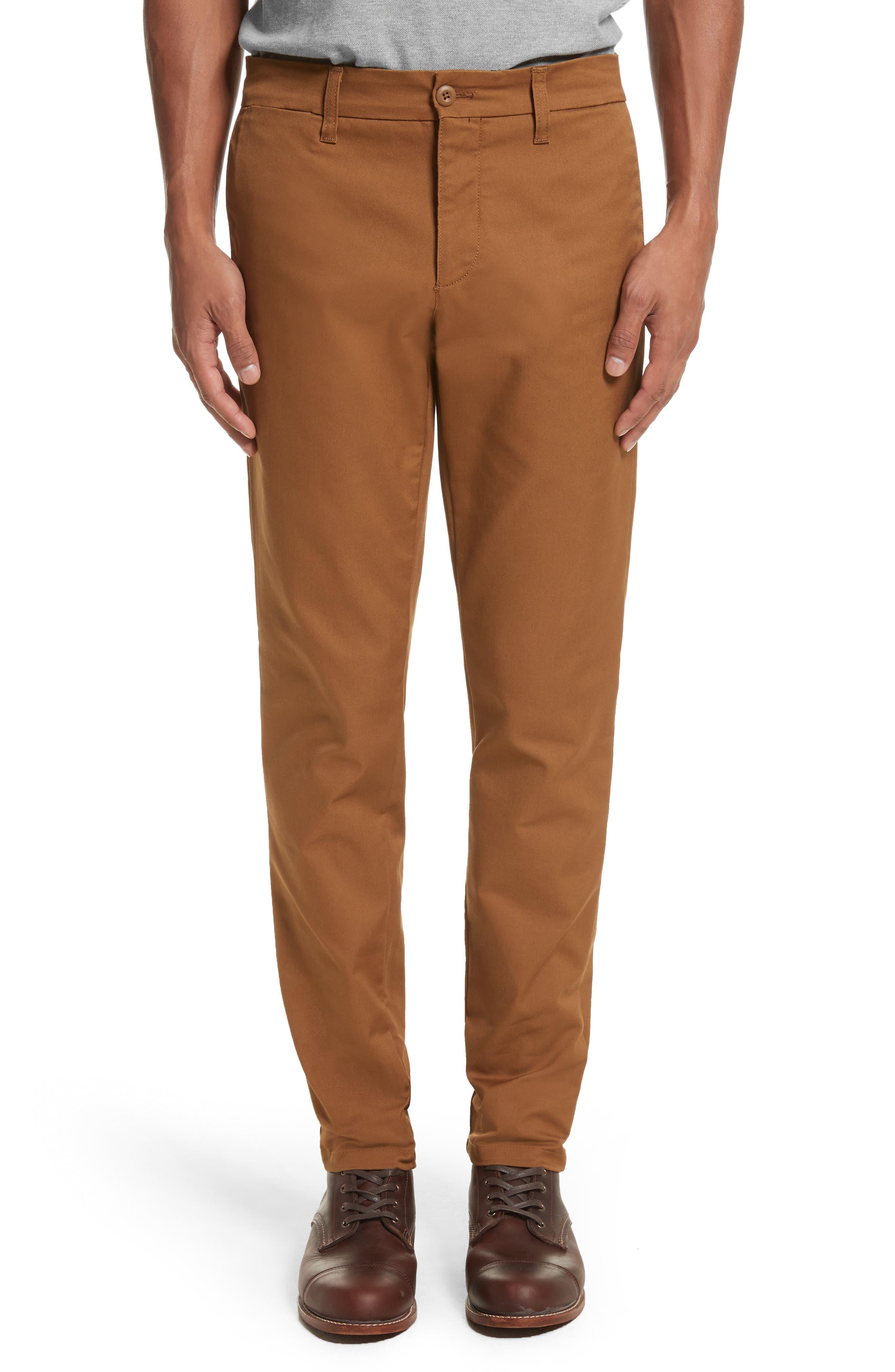 Sid Chino Pants,                         Main,                         color, Hamilton Brown